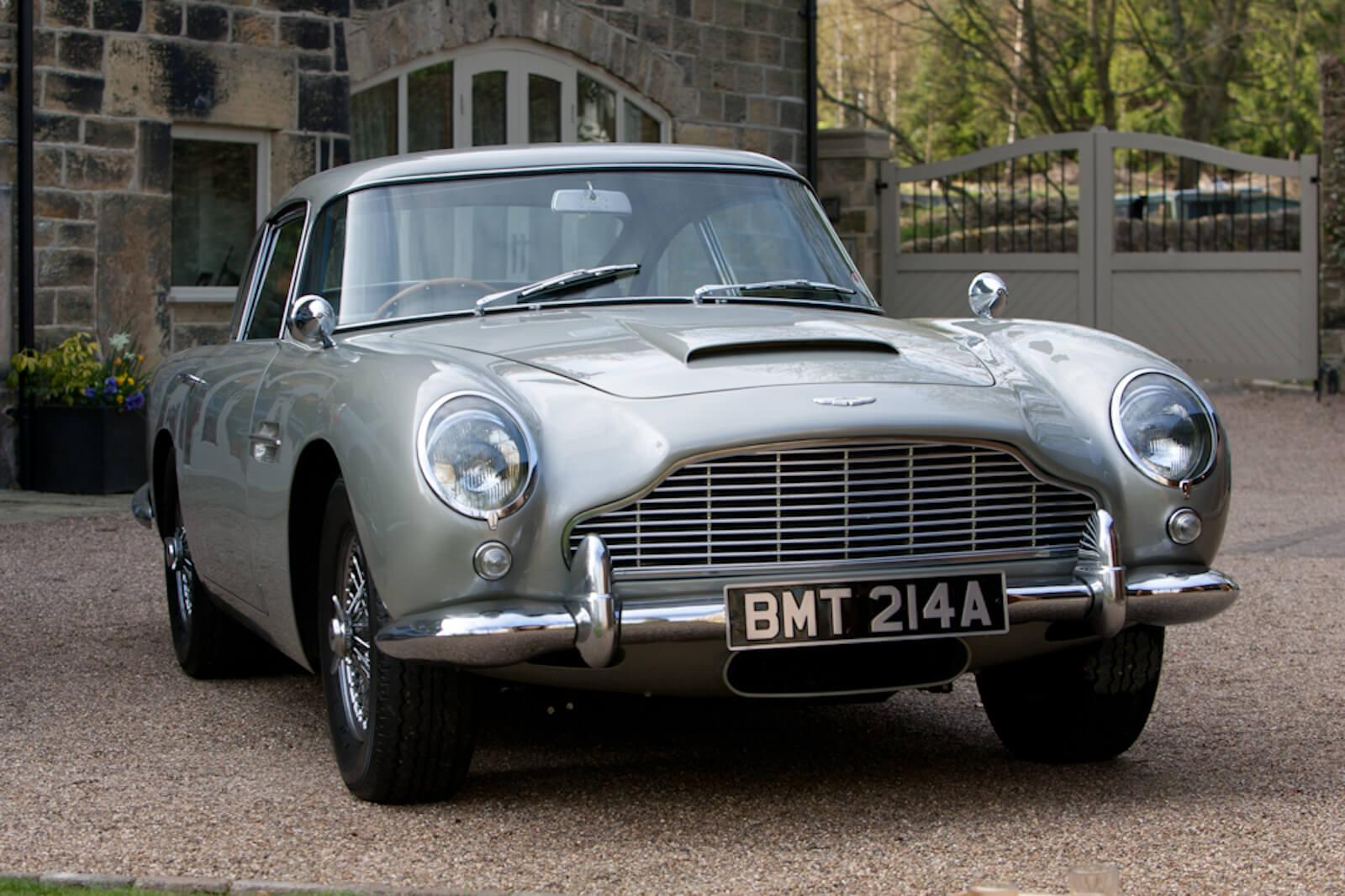 james bond's aston martin db5 heading to goodwood auction