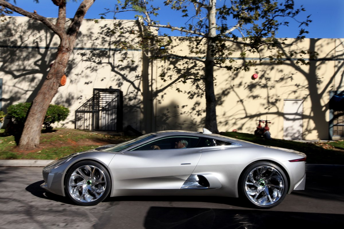 Jaguar C Plug In Supercar Turbines For Track Only