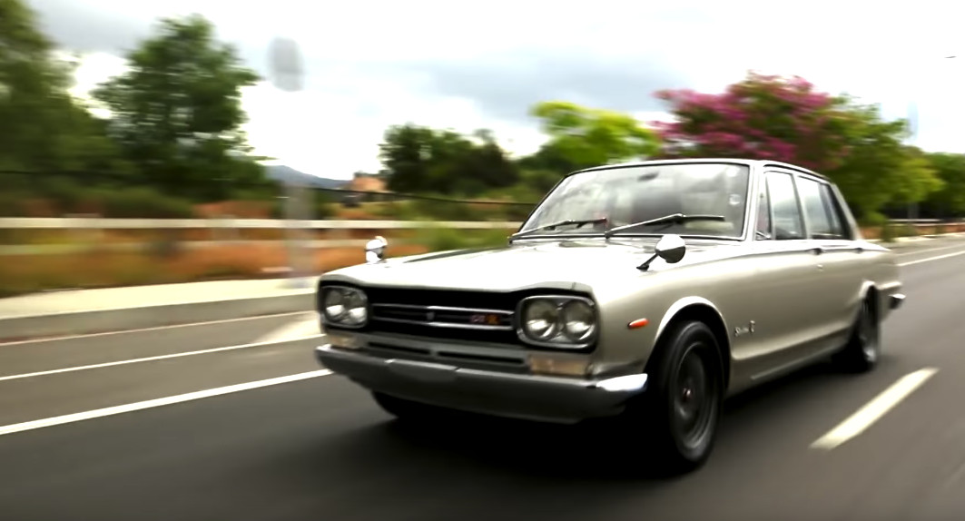 Jay Leno learns all about the original Nissan Skyline GT-R