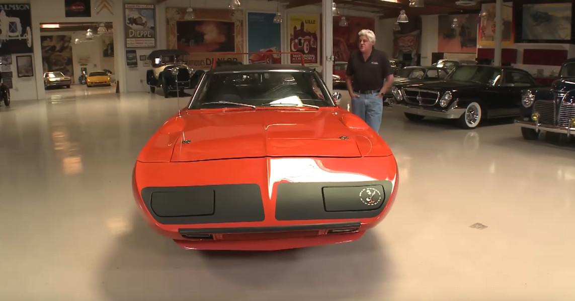 jeff dunham s 1970 plymouth superbird visits jay leno s garage