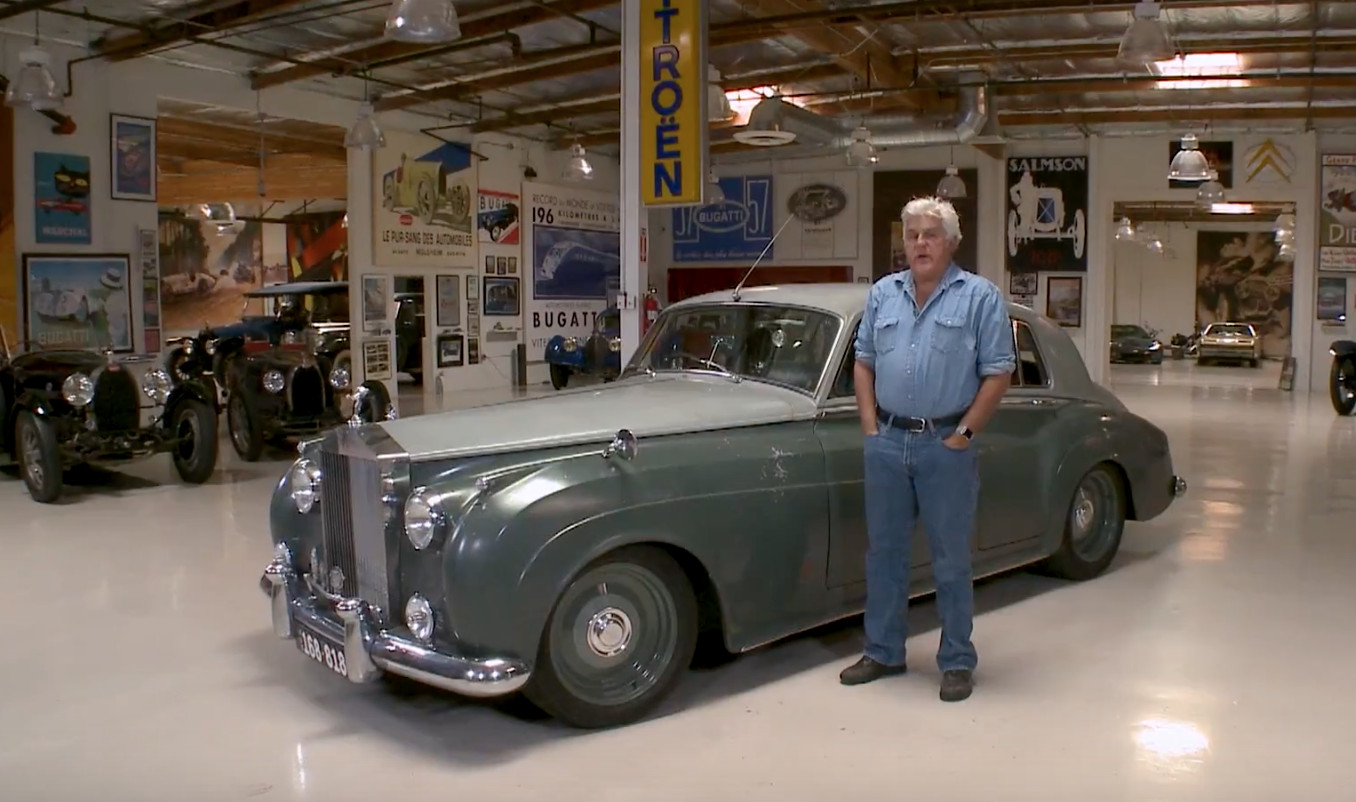 Sleeper 1958 Rolls Royce Silver Cloud Stops By Leno S Garage
