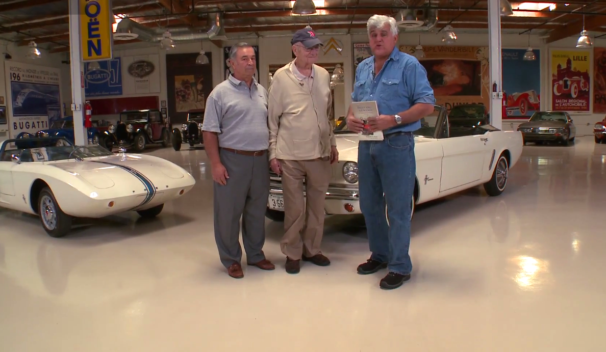 2015 Ford Mustang And Lee Iacocca Drop By Jay Leno S