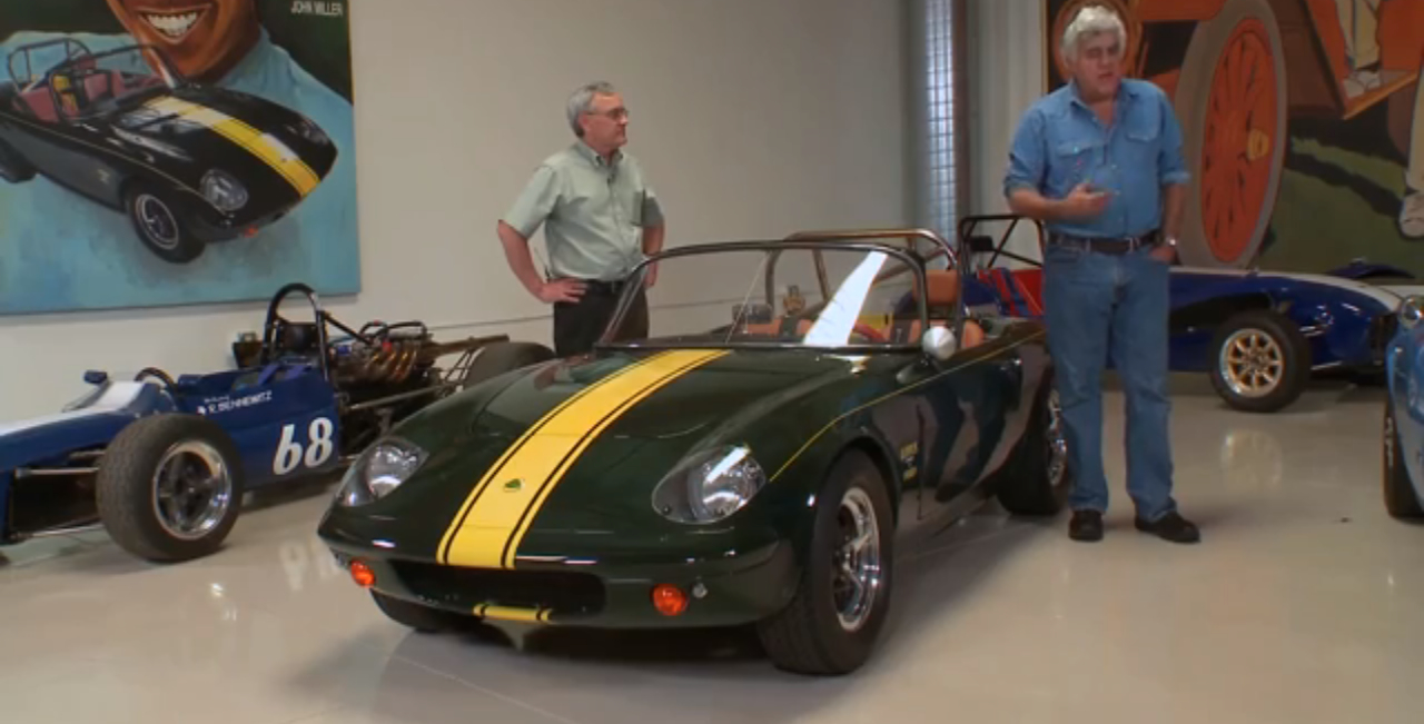Jay Leno S Garage Builds The Ultimate Lotus Elan 26r Video