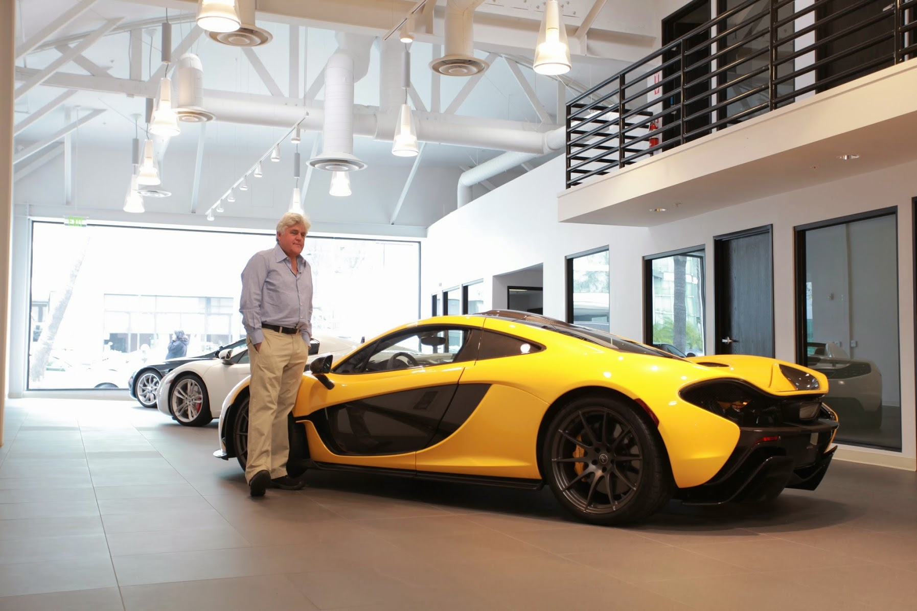 Image result for jay leno McLaren P1