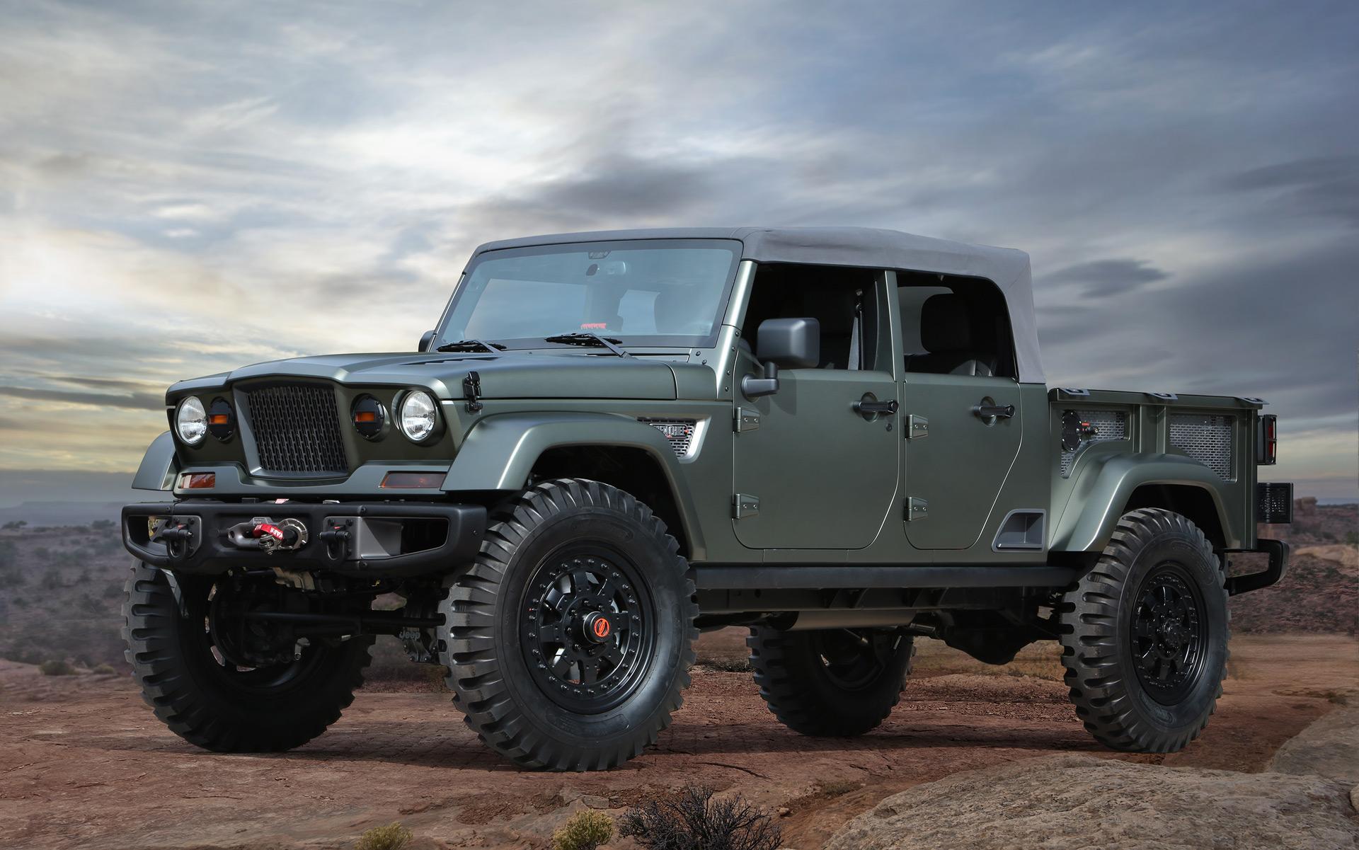 Jeep Concept Hints At New Wrangler Pickup