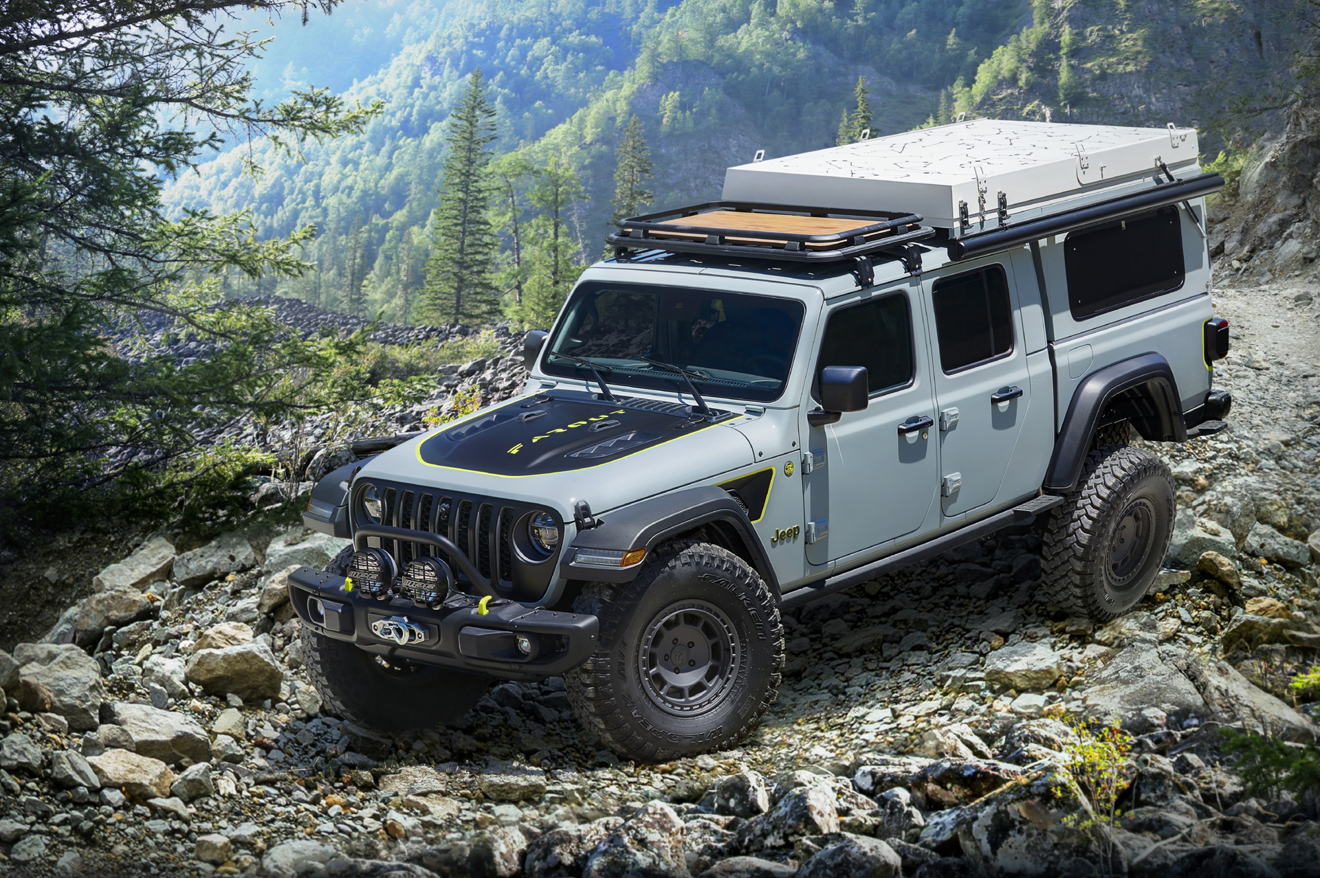 Jeep explores overlanding with Gladiator Farout concept