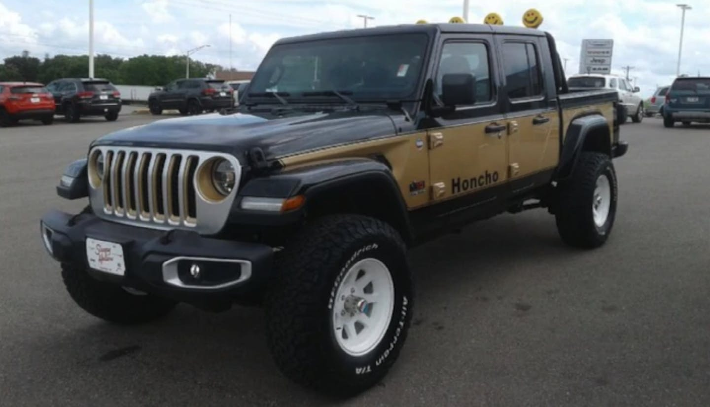 2020 Jeep Gladiator becomes modern-day J-10 Honcho thanks ...