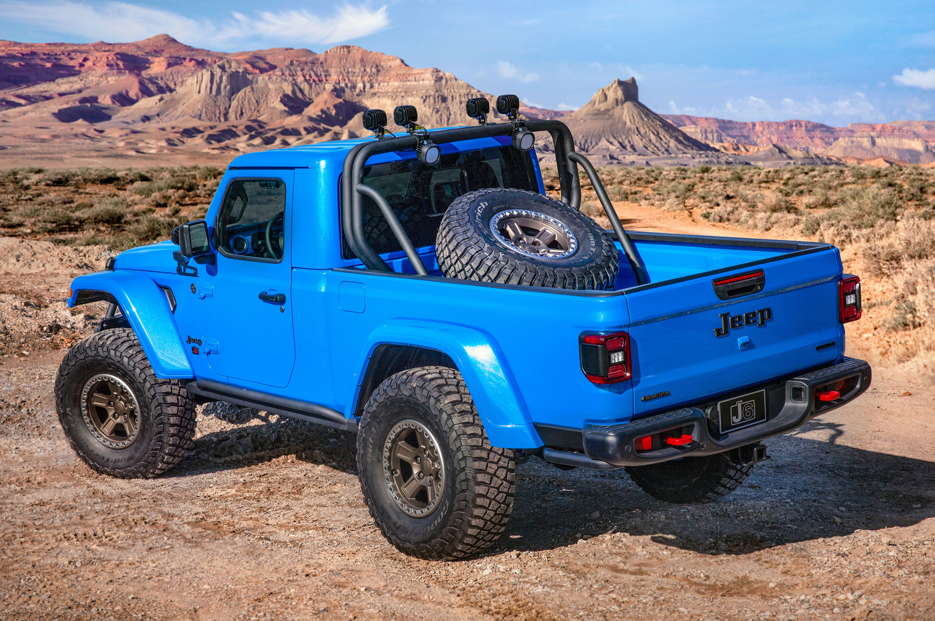 Concepto jeep j6
