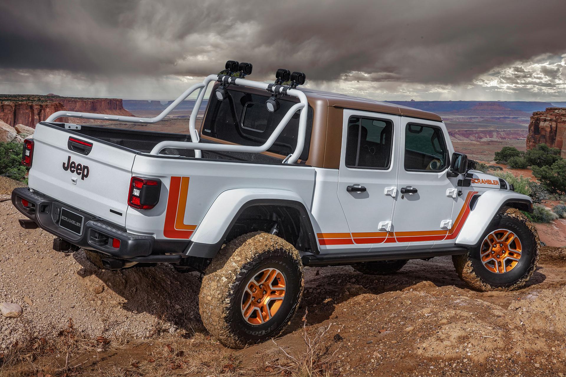 Jeep JT Scrambler concept