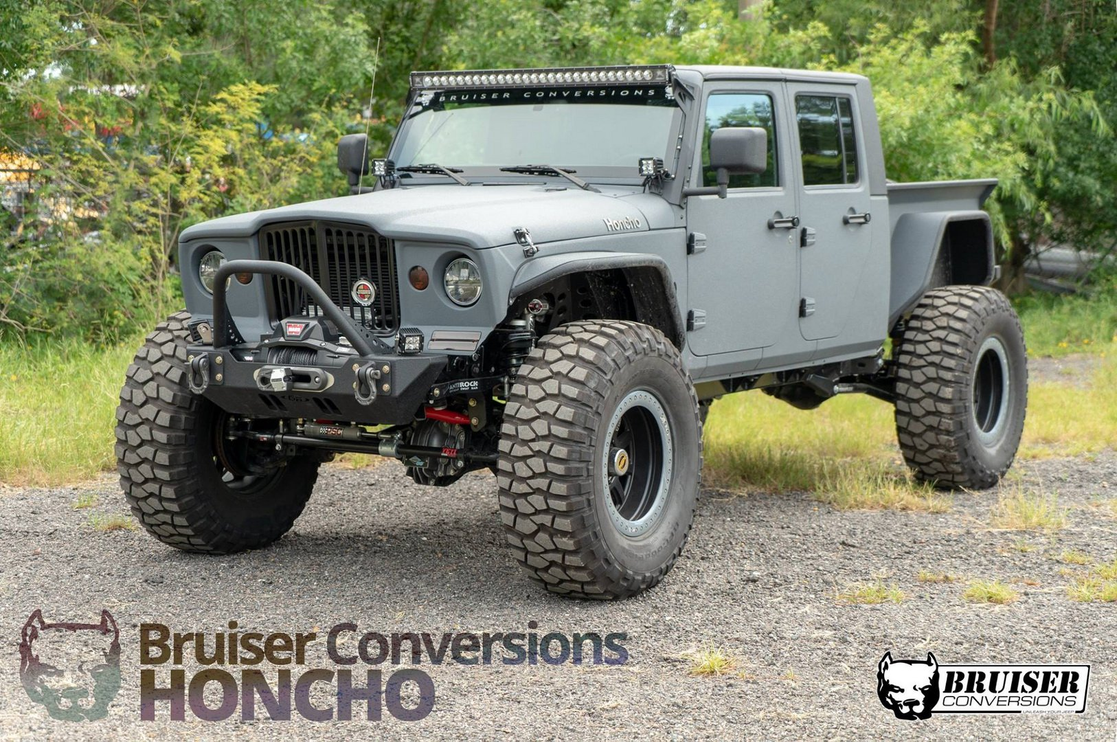 Jeep Bruiser Honcho mixes old-school cool with modern power