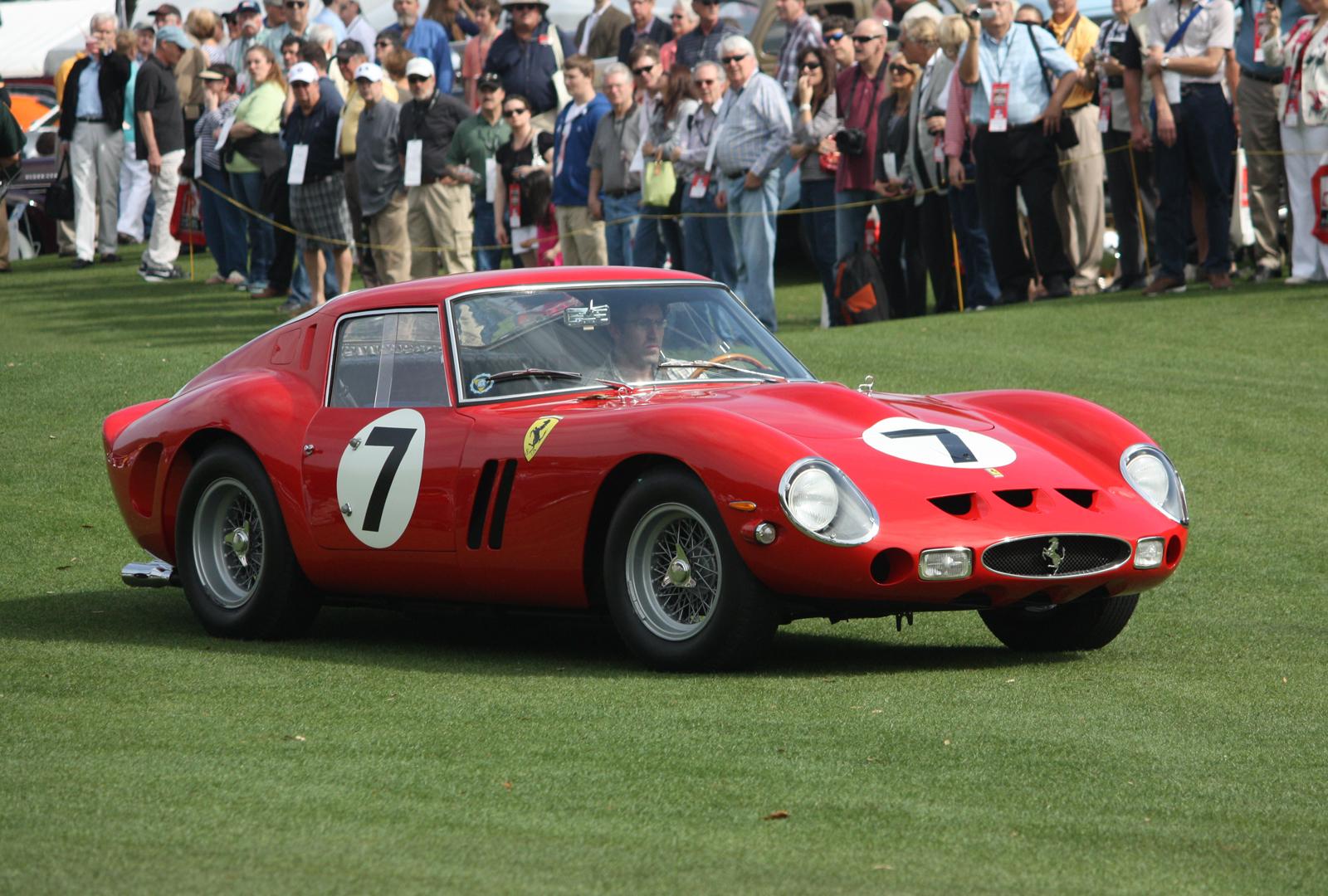 1963 Ferrari 330 Lm Wins Concours De Sport At Amelia Island