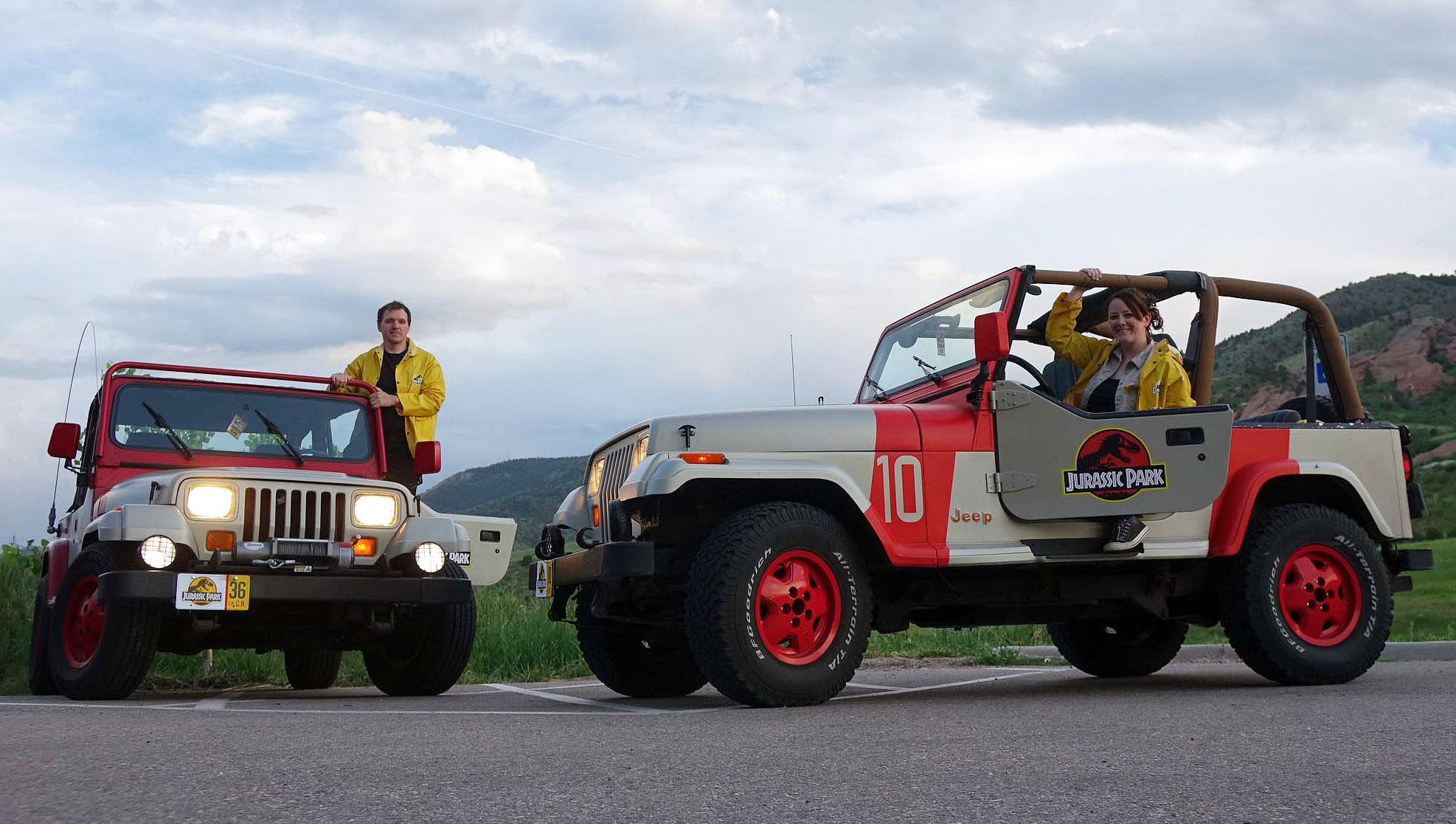 Build A Jeep >> A Different Kind Of Build The World Of Jurassic Park Jeep