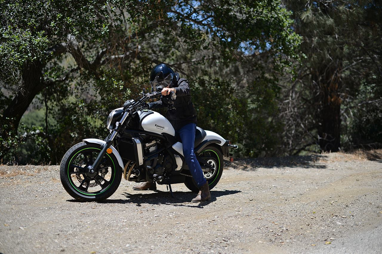 kawasaki vulcan s abs: the motorcycle for car guys and gals