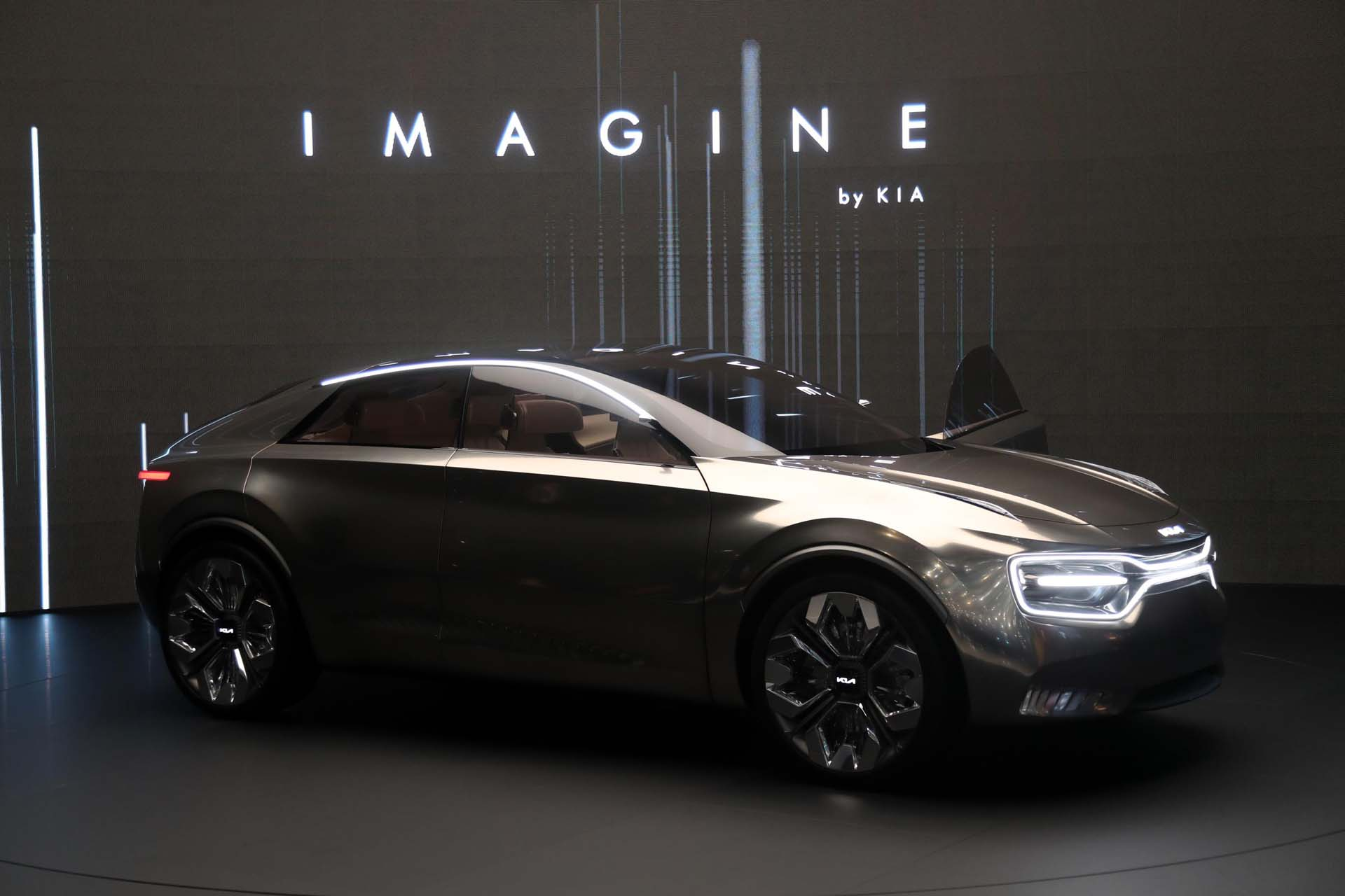 Imagine By Kia Concept Envisions An Electric Commuter Car That S Also Fun