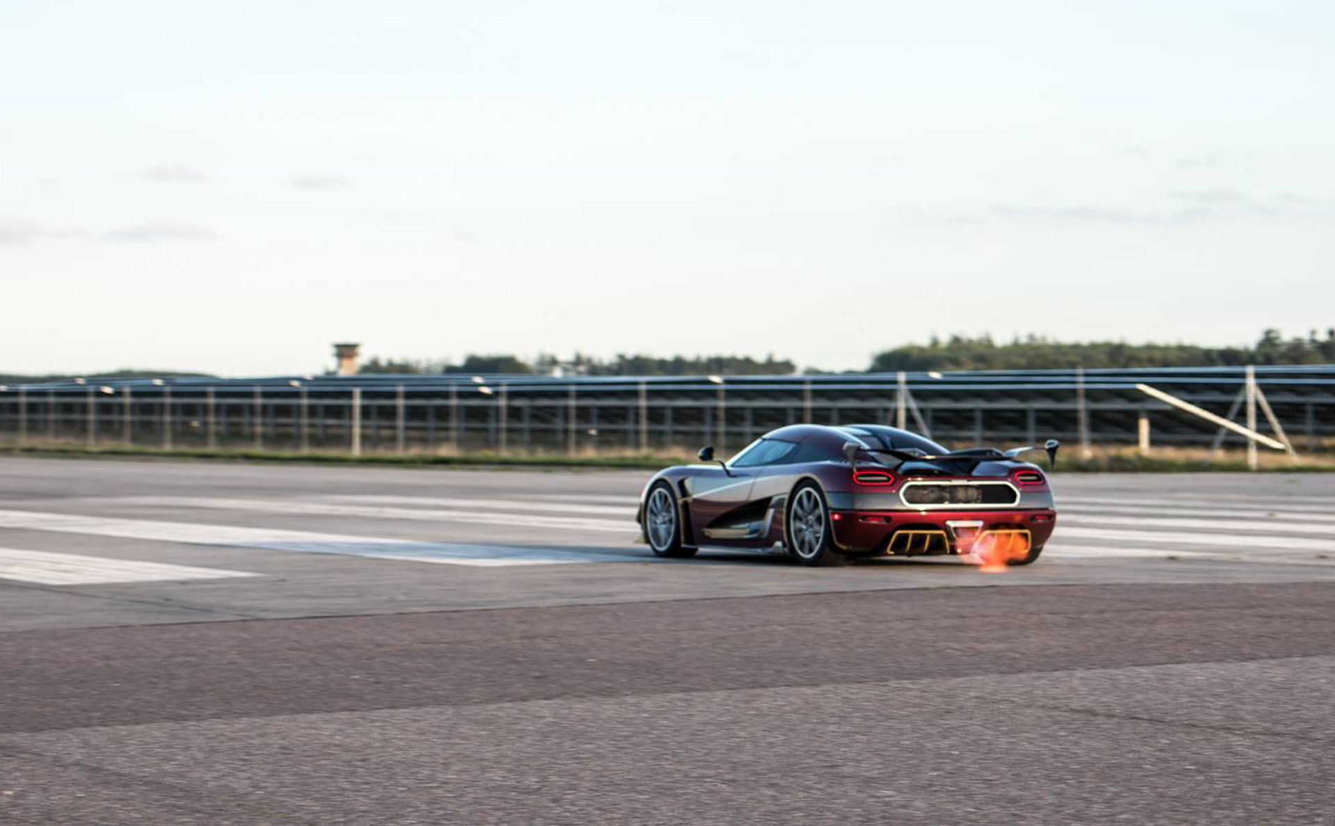 koenigsegg agera rs owner encouraged top speed run