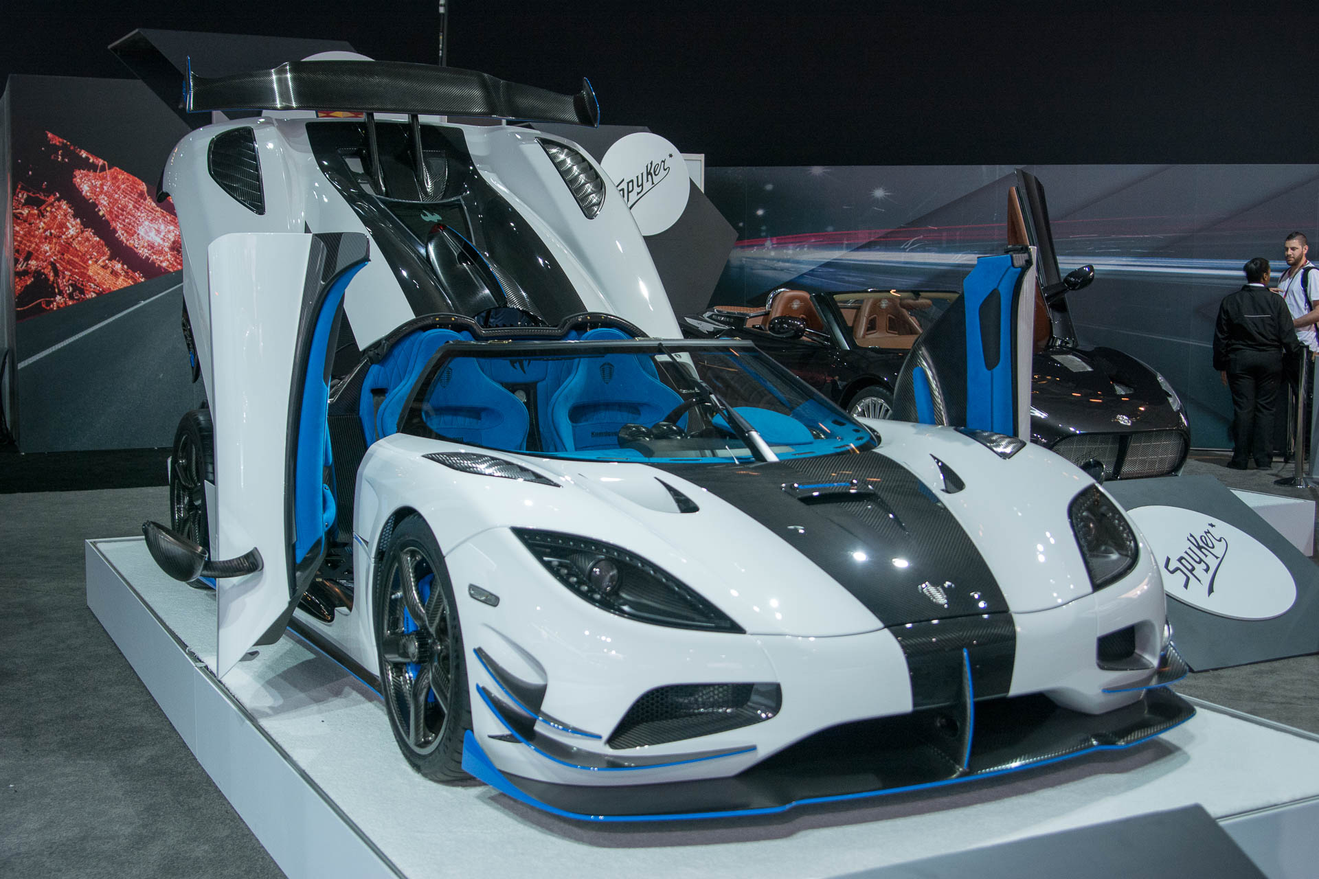 koenigsegg s one off 1 360 hp agera rs1 invades new york