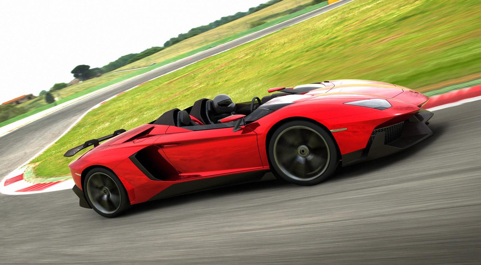 Lamborghini Aventador J 2012 Geneva Motor Show