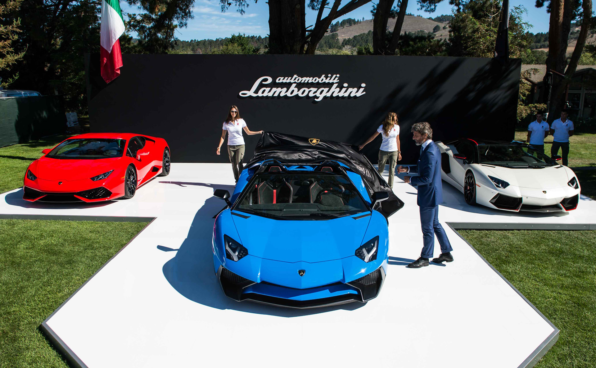 Lamborghini Aventador Lp 750 4 Superveloce Roadster Revealed In Monterey