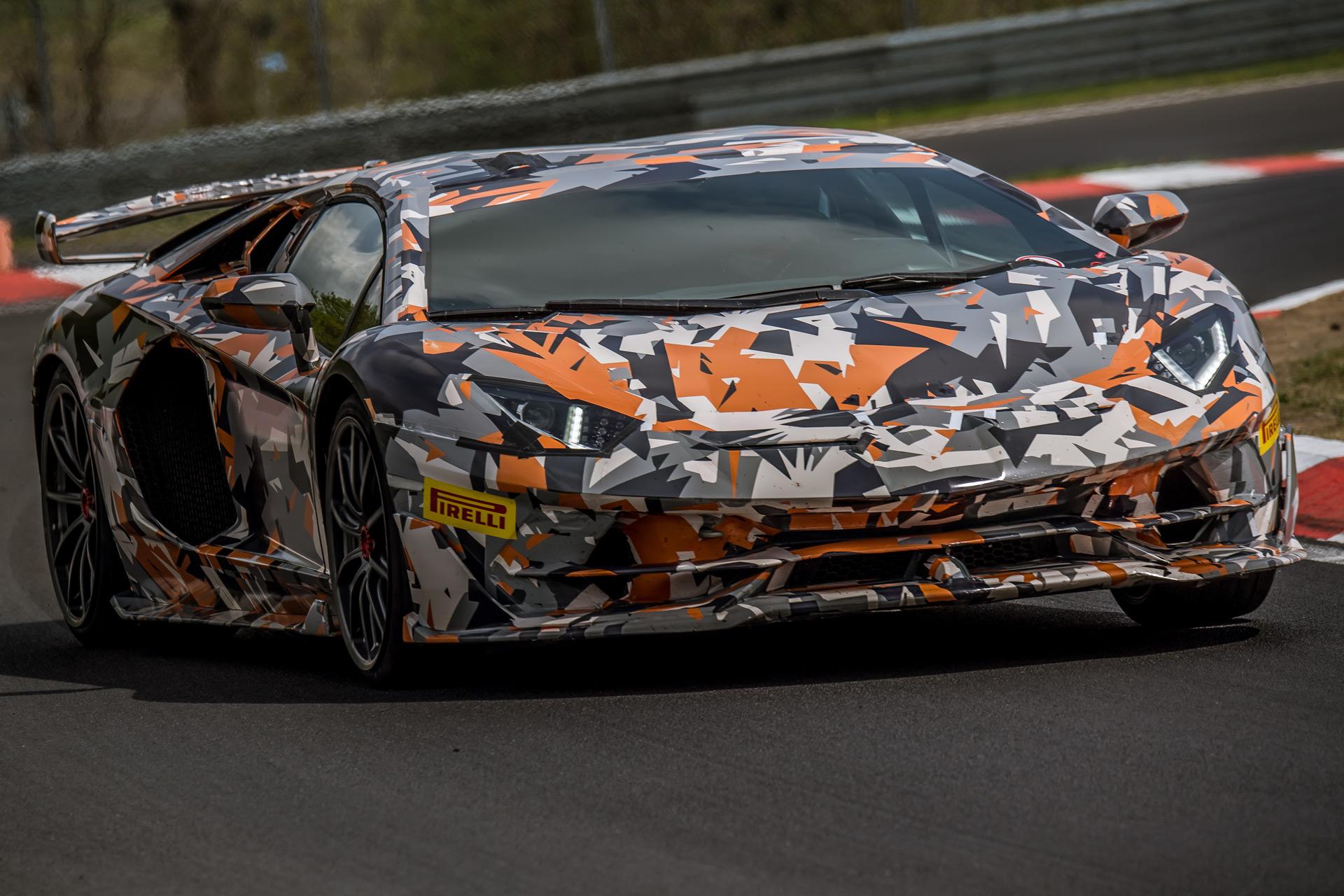 Lamborghini Aventador Svj Details Surface