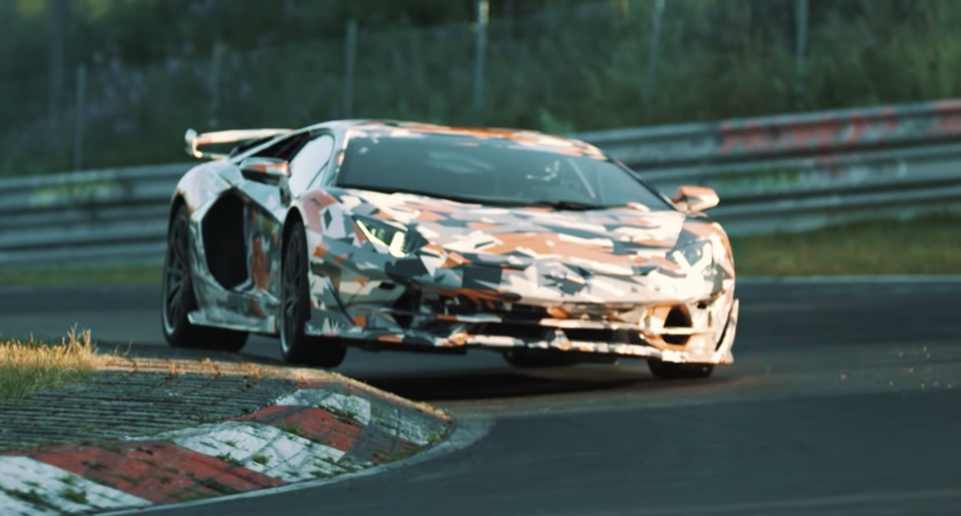 Lamborghini Aventador Svj Will Have The Best Power To Weight Ratio