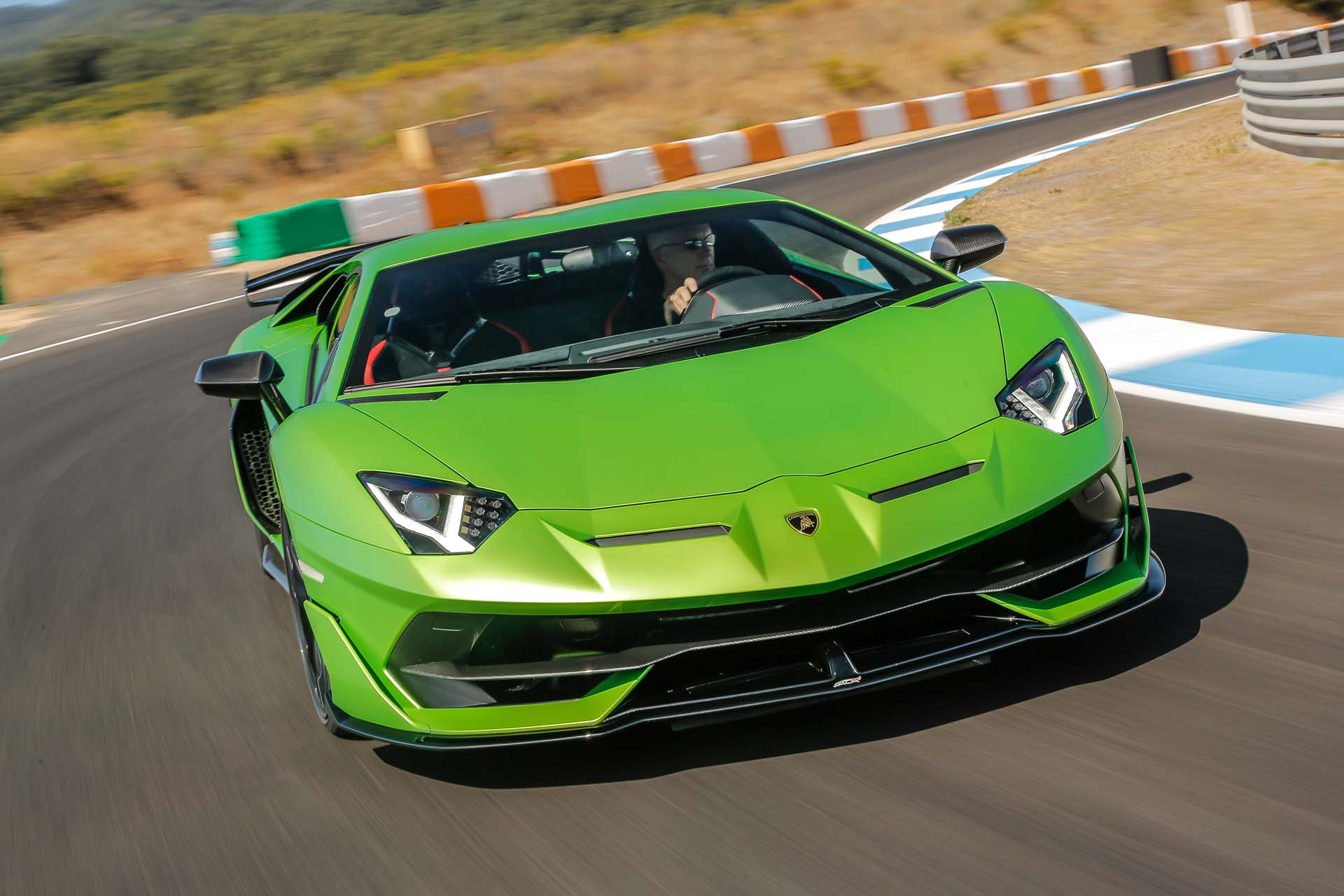 2019 Lamborghini Aventador Svj First Drive Review The Life You Save