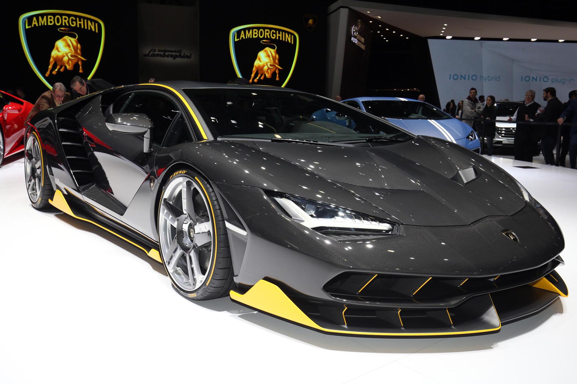 Lamborghini Centenario Debuts In Geneva With 759 Hp