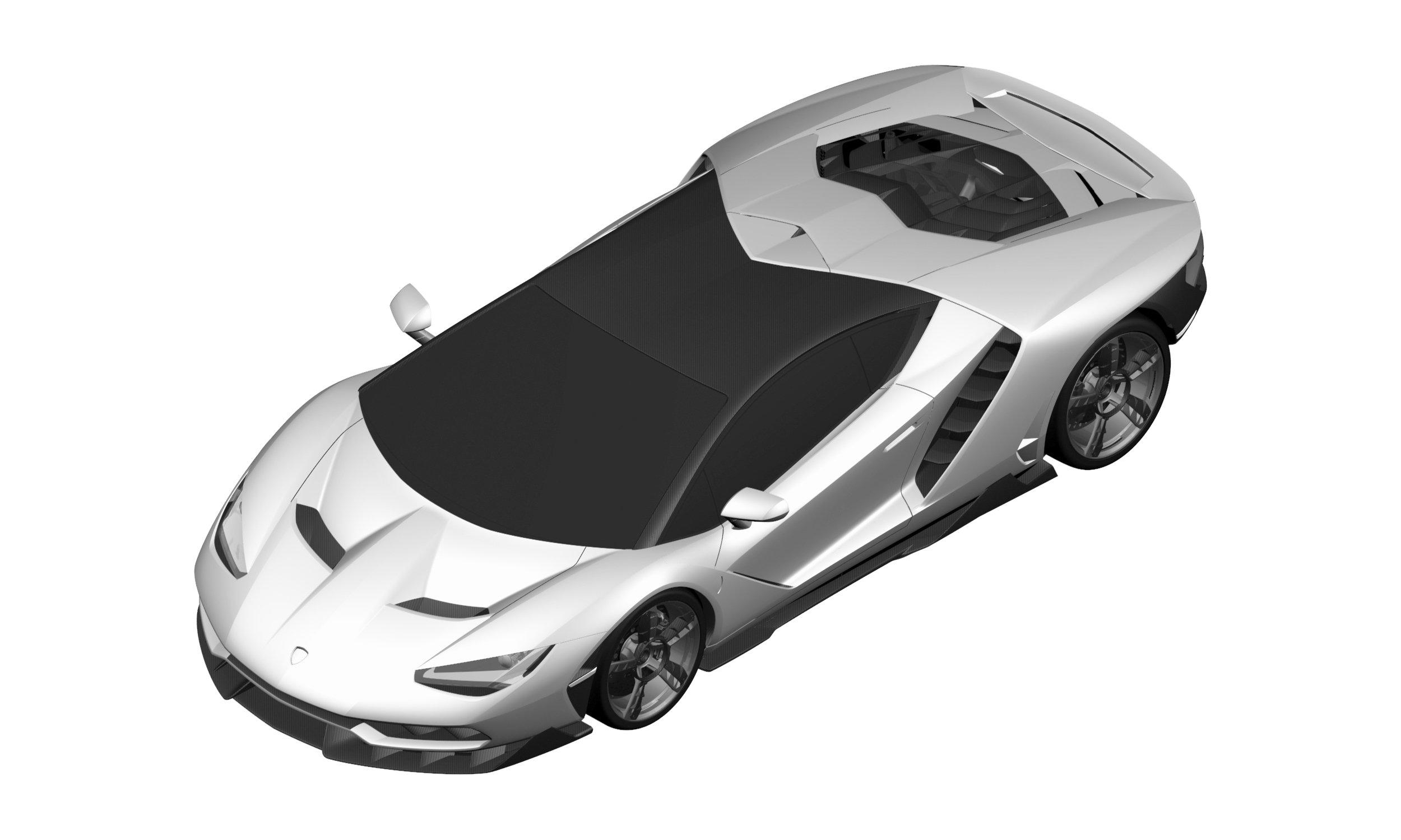 Is This The Lamborghini Centenario Lp 770 4 Supercar
