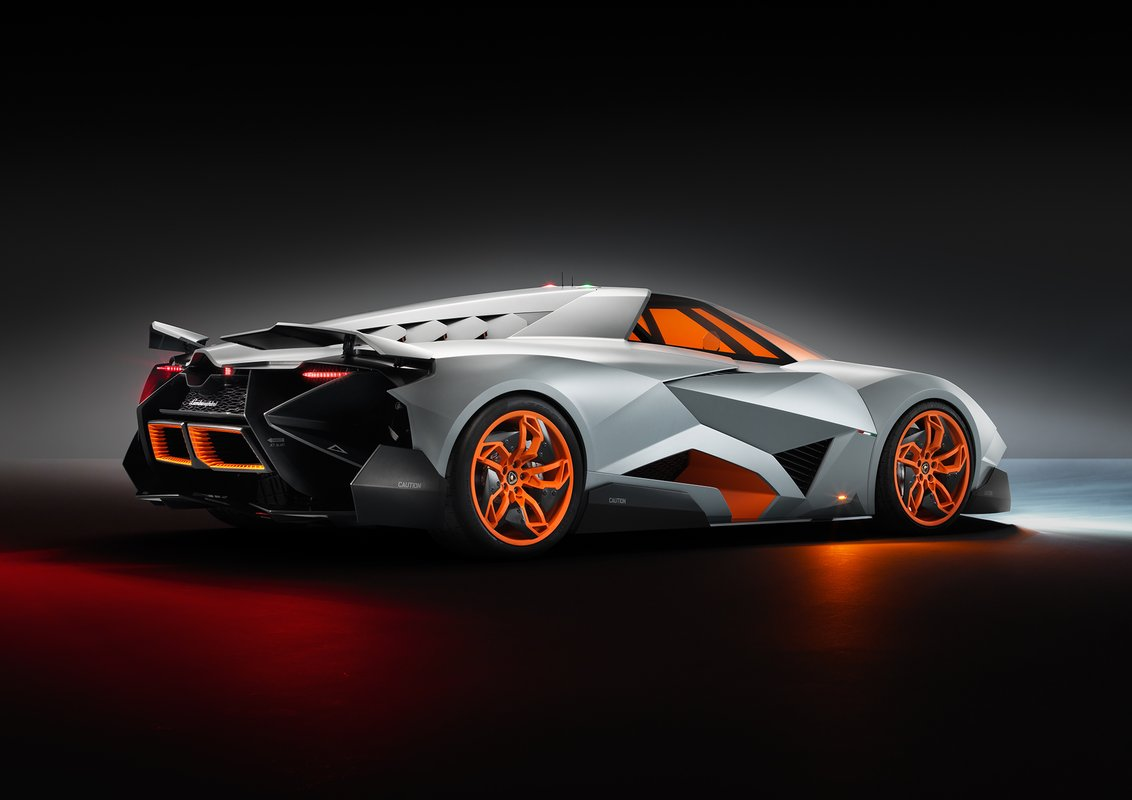 Lamborghini Egoista Concept Official Details