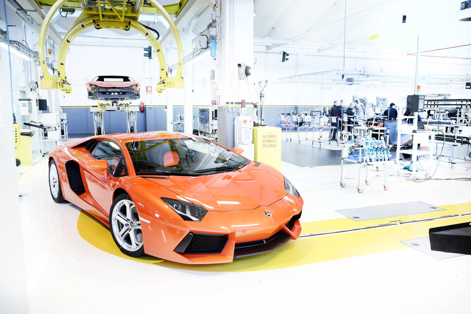 Video Tour Of The Lamborghini Factory And Museum