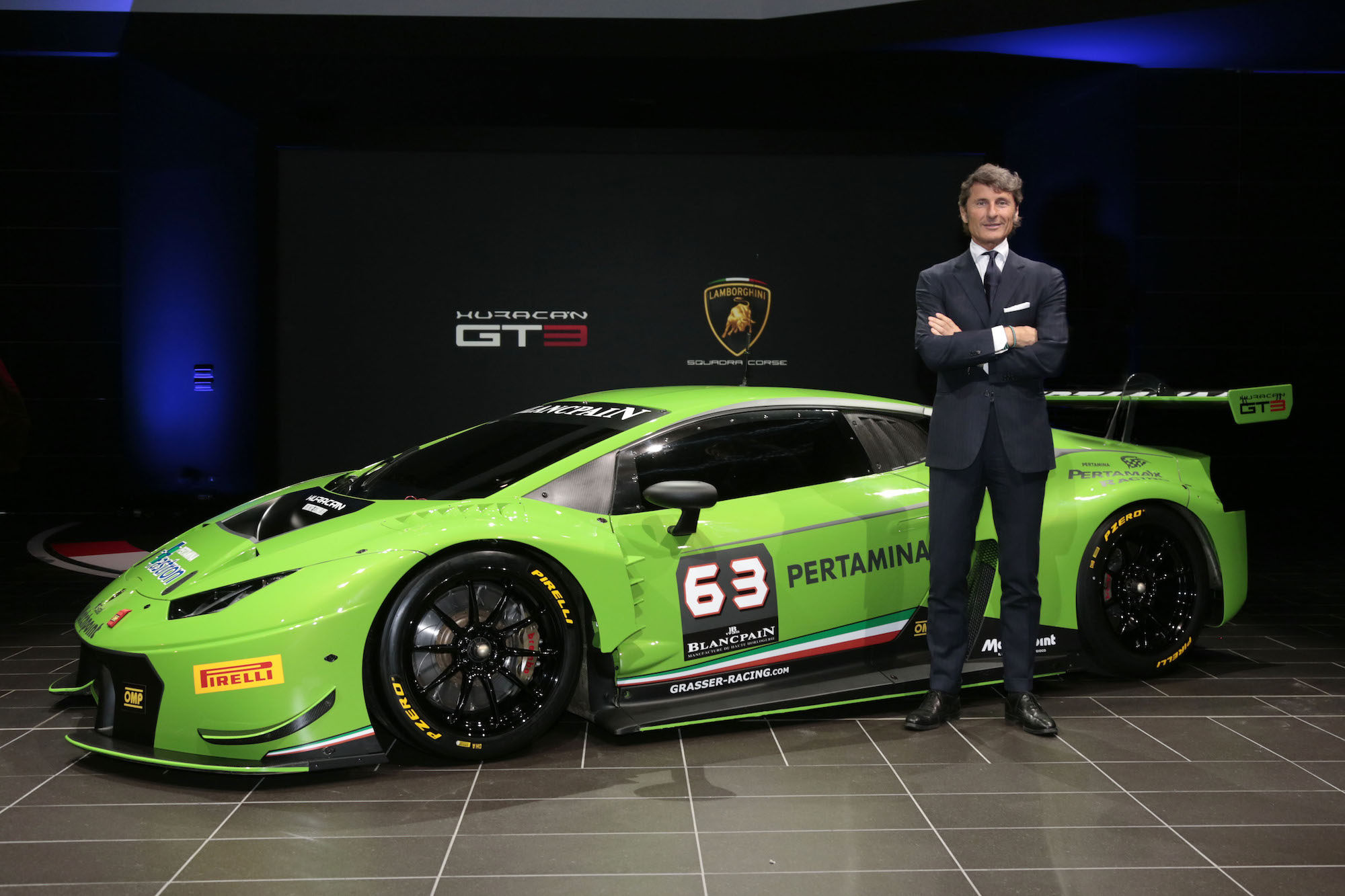 Lamborghini Hurac 225 N Gt3 Revealed Video