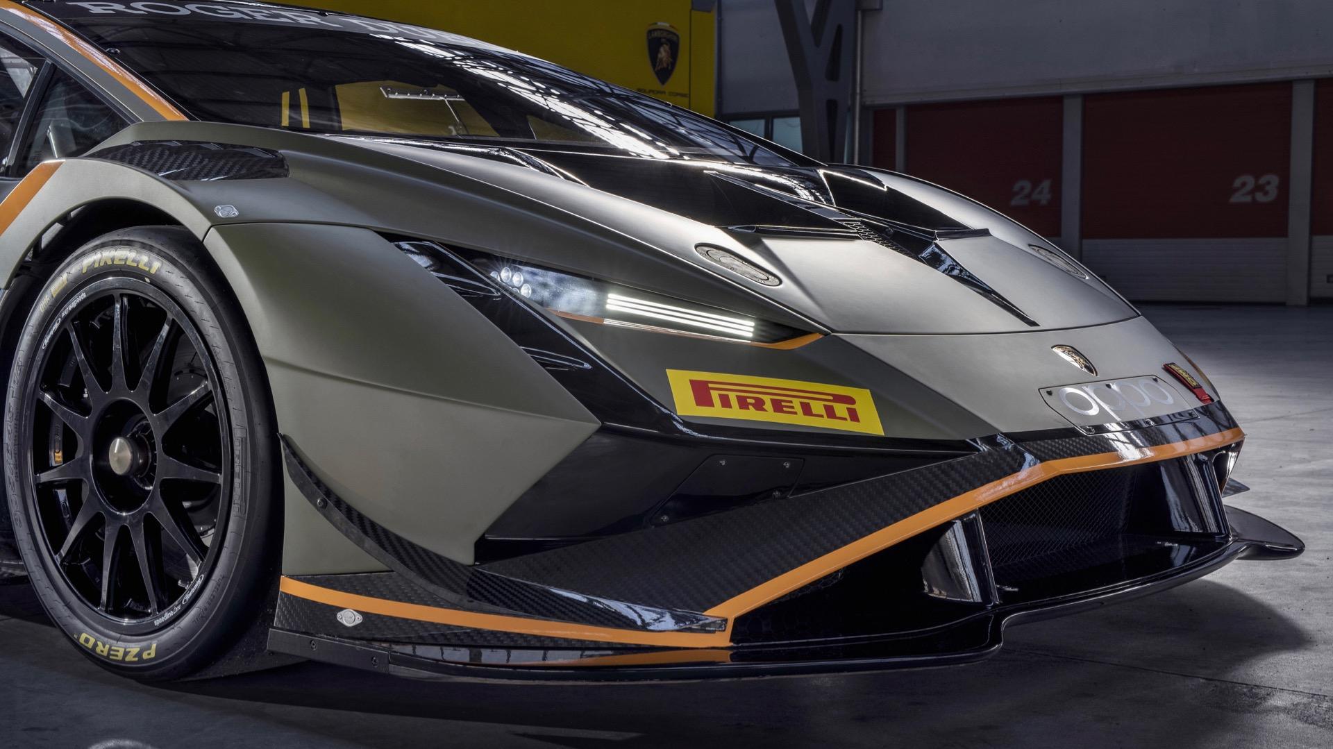 The Lamborghini Huracan Super Trofeo Evo2