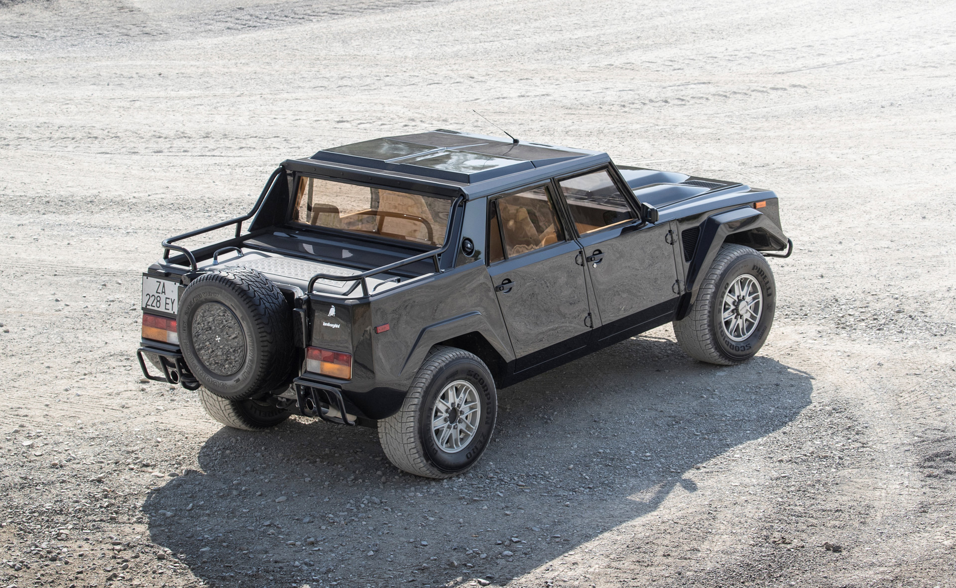 Lamborghini Has Considered An Off Road Lm002 Successor