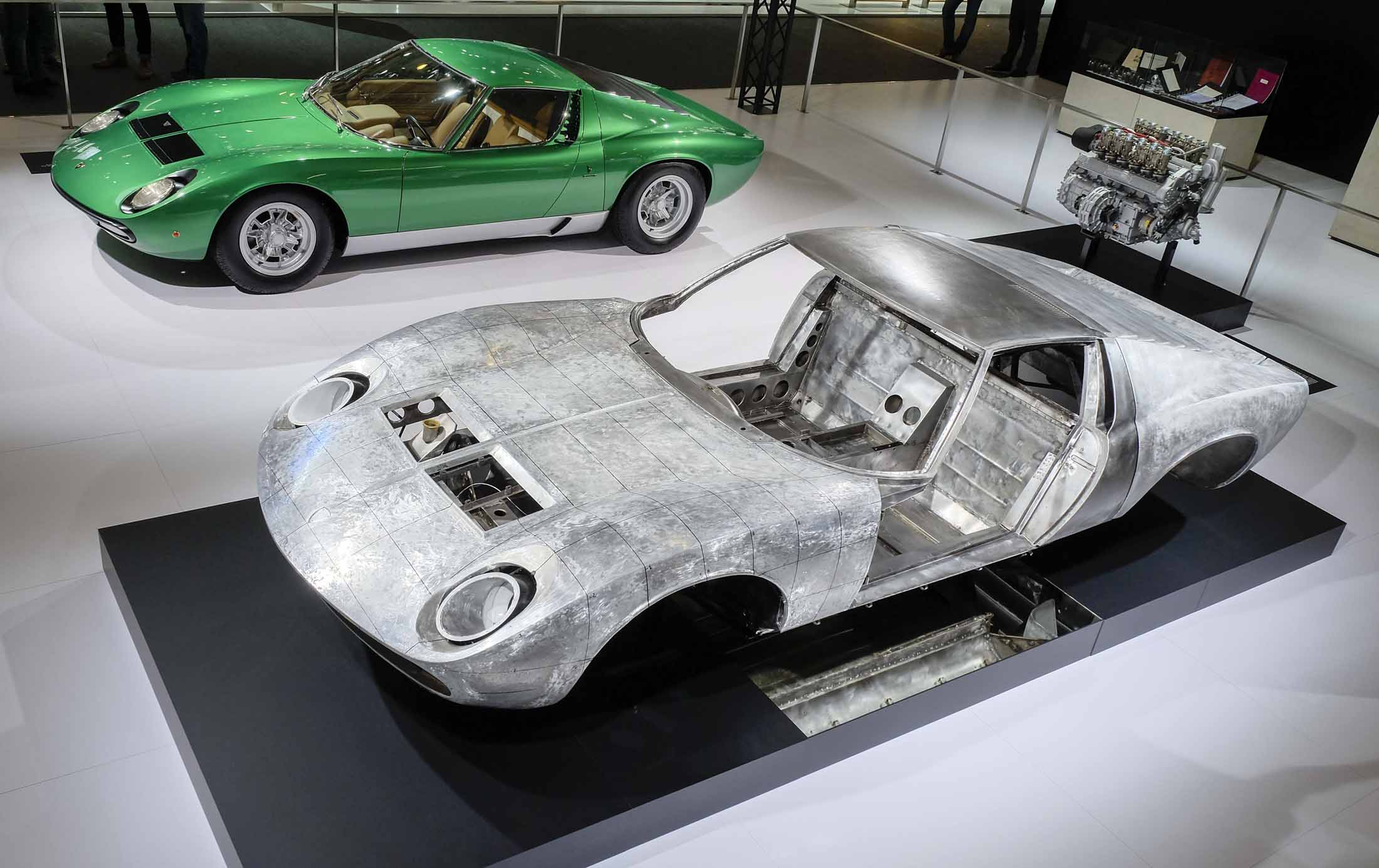 Lamborghini Shows Off Miura Body In White For Car S 50th
