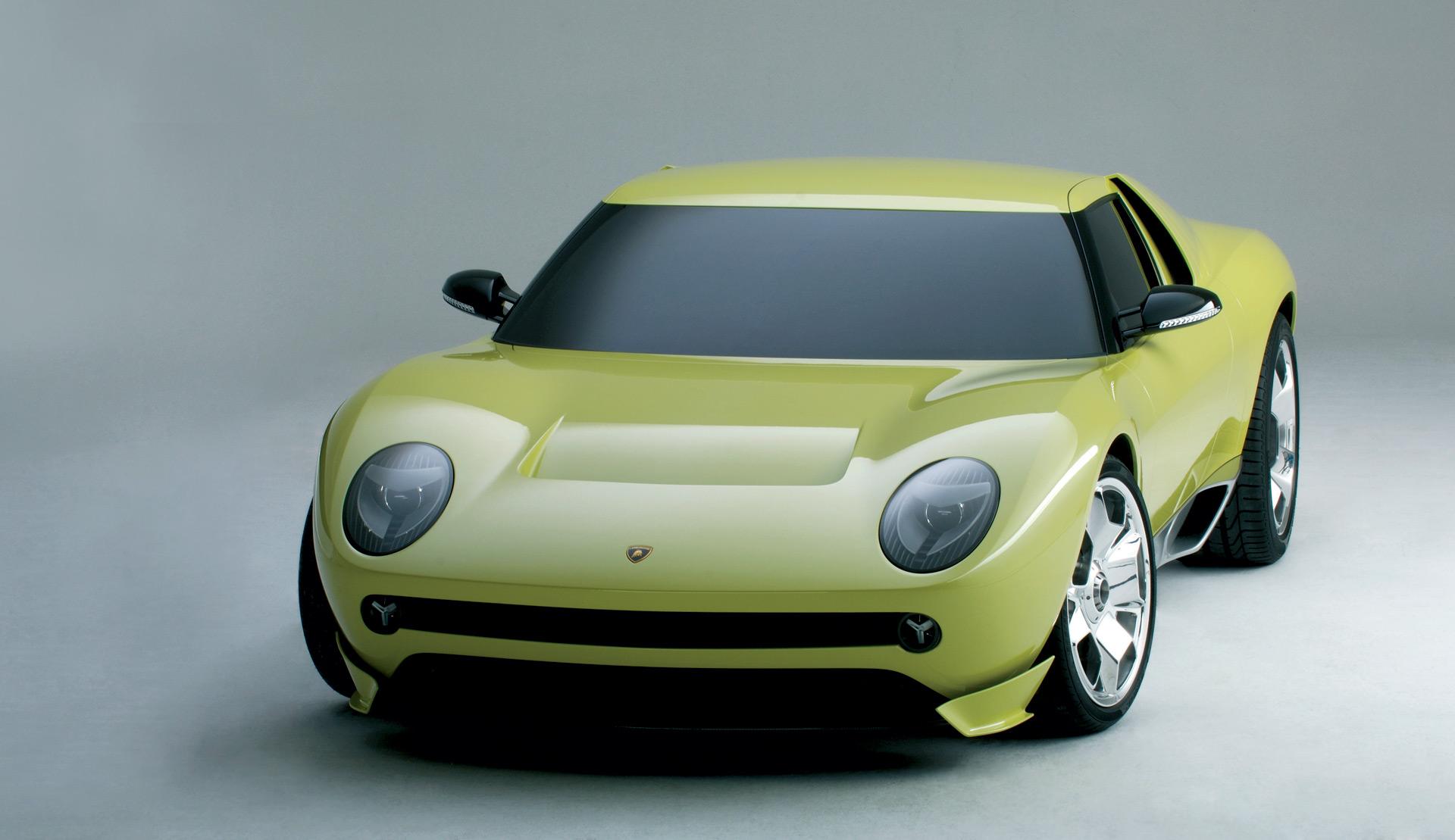 Lamborghini Ceo Hints At Modern Miura 4 Seat Sports Car