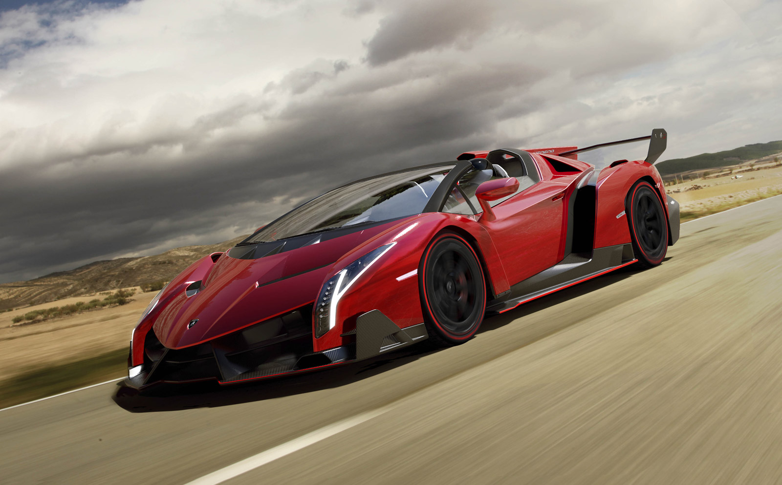 lamborghini veneno roadster for sale: just $7.4 million
