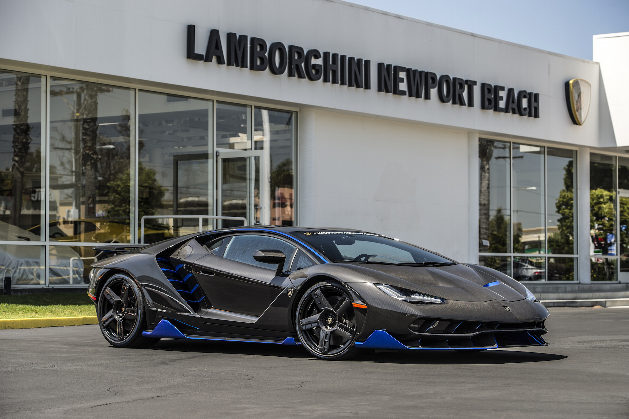 First Us Spec Lamborghini Centenario Arrives In Newport Beach