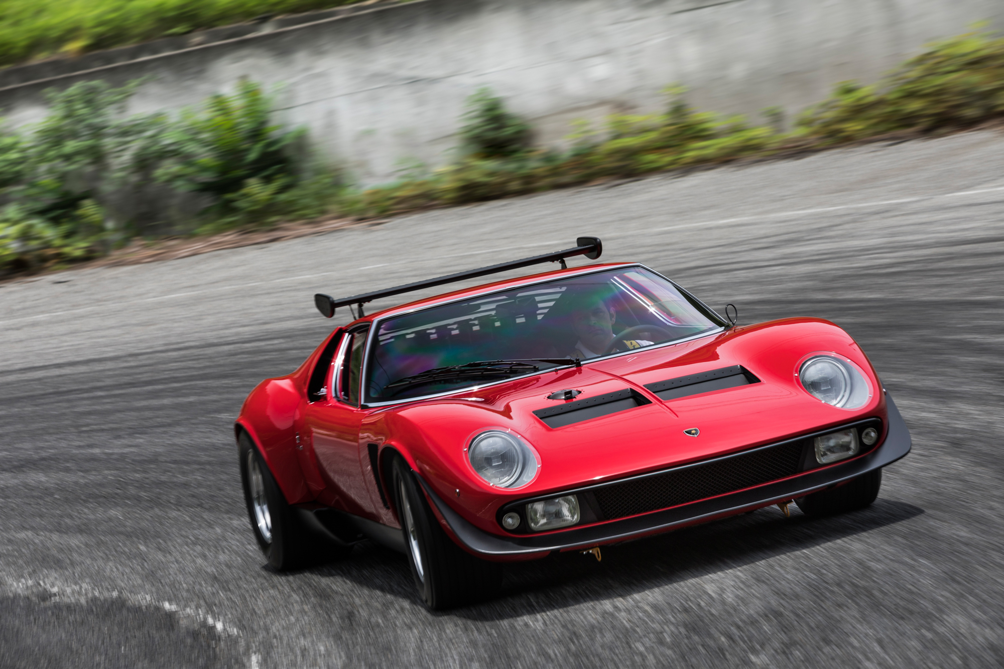 Lamborghini Polo Storico Restores One Of One Miura Svr