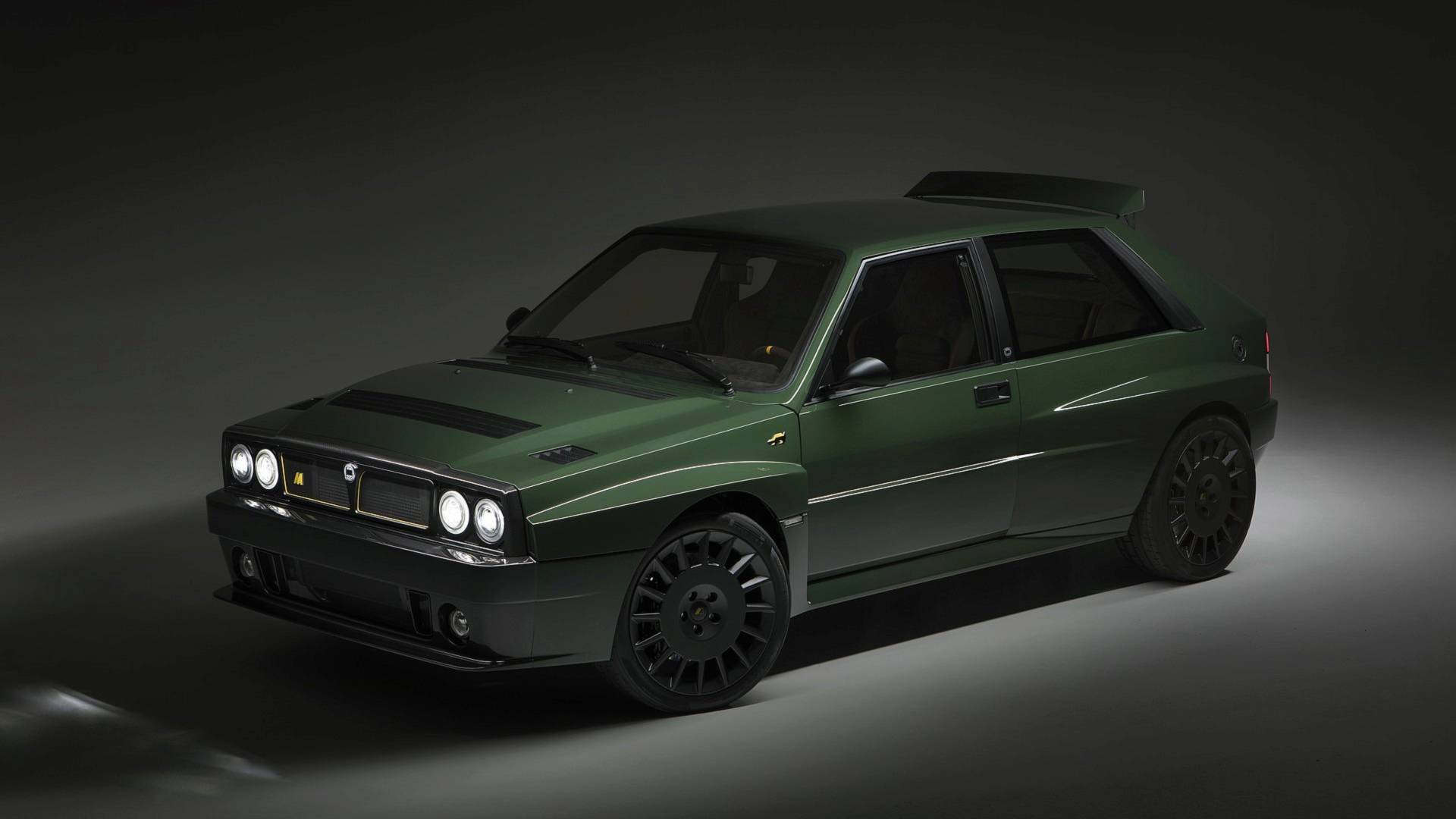 The Lancia Delta Futurista Restomod Has Arrived And It S