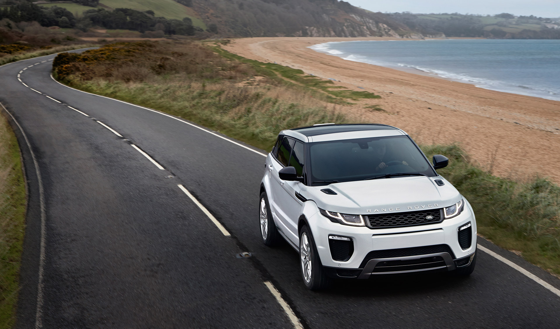 2016 land rover range rover evoque revealed with led headlights, new engine