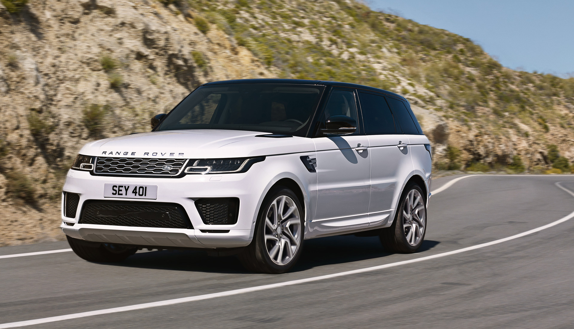 2019 range rover sport p400e plug in hybrid on sale in us in summer 2018 technical details. Black Bedroom Furniture Sets. Home Design Ideas