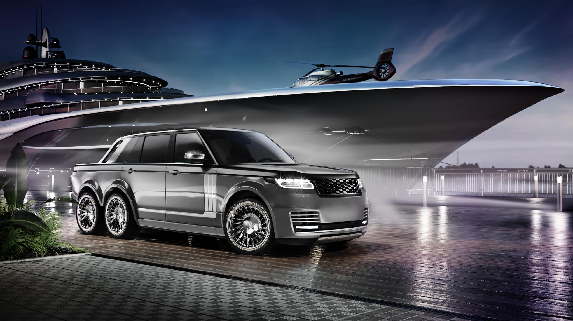 German firm readies Range Rover 6x6 pickup