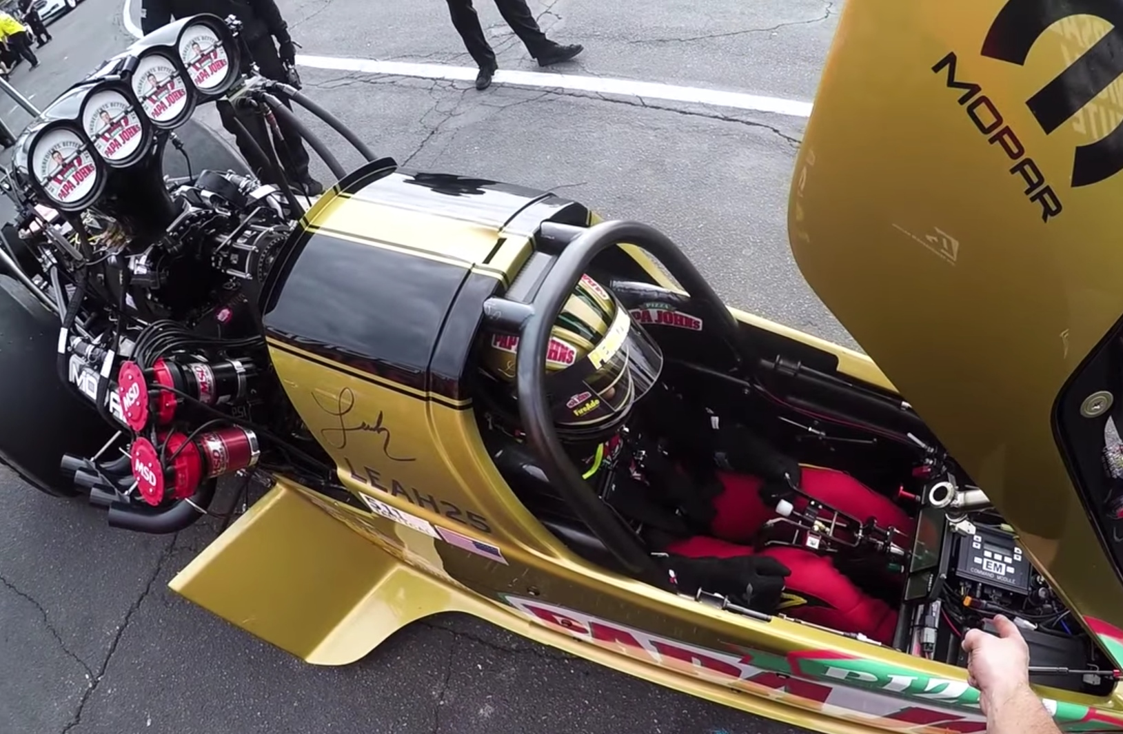 Anatomy of a record-setting Top Fuel run