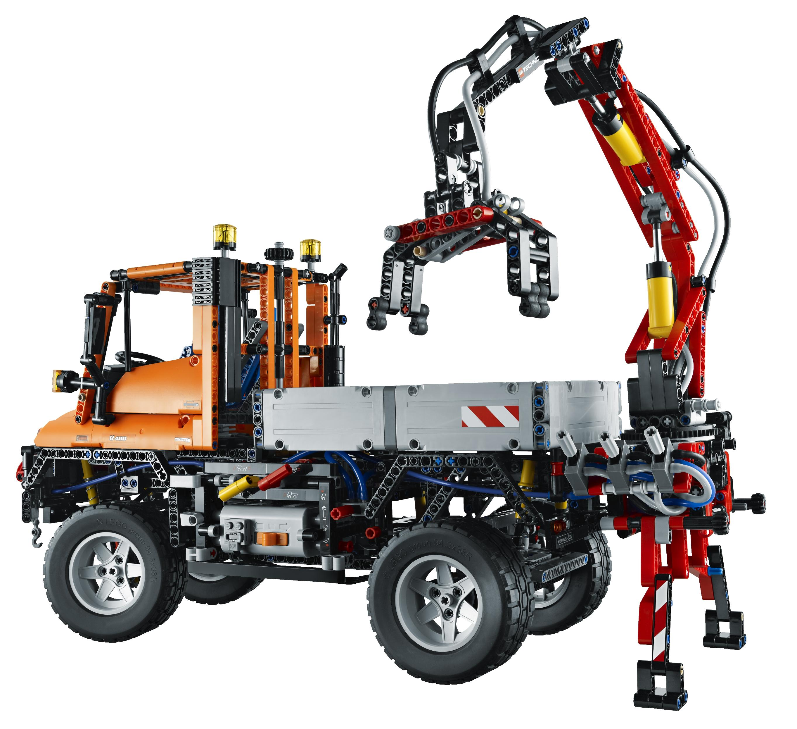 mercedes unimog inspires biggest lego technic model ever. Black Bedroom Furniture Sets. Home Design Ideas