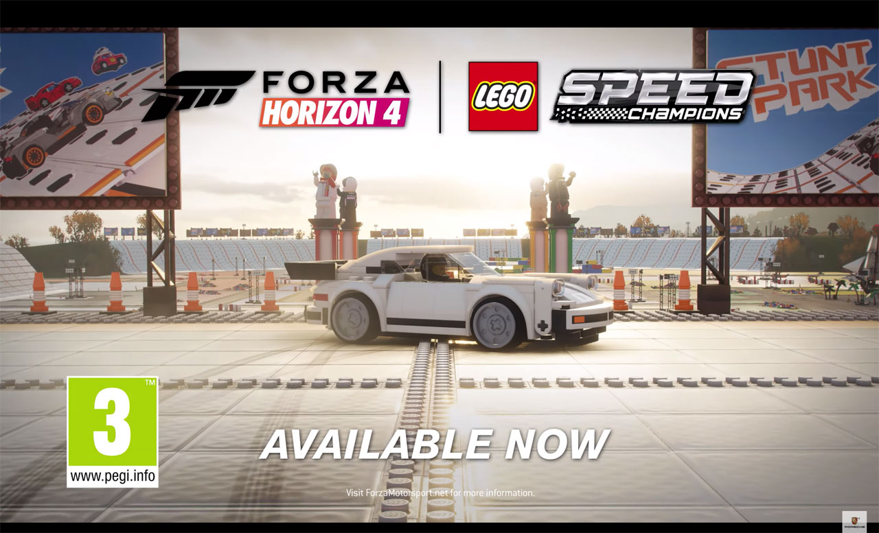 Porsche 911 Turbo joins Forza's Lego expansion pack
