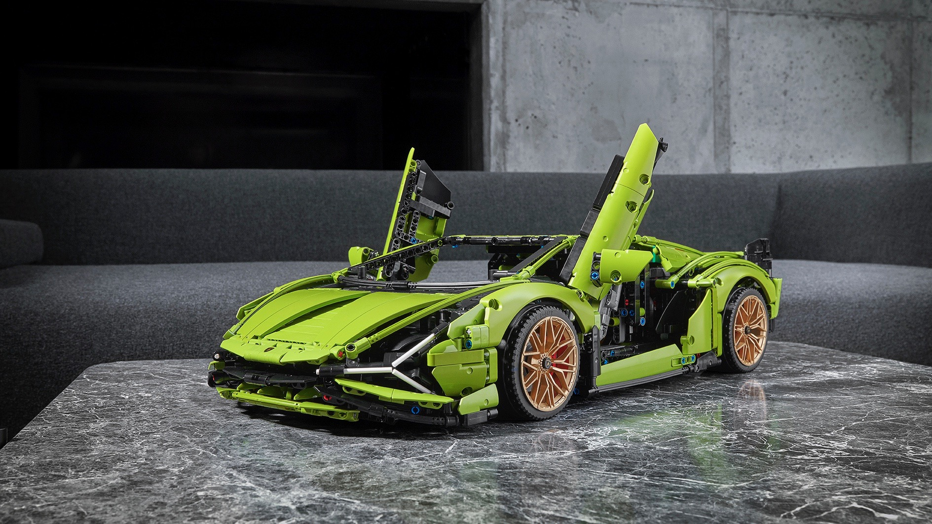 This Lego Technic Lamborghini Sian FKP 37 has 3,696 pieces - Motor Authority