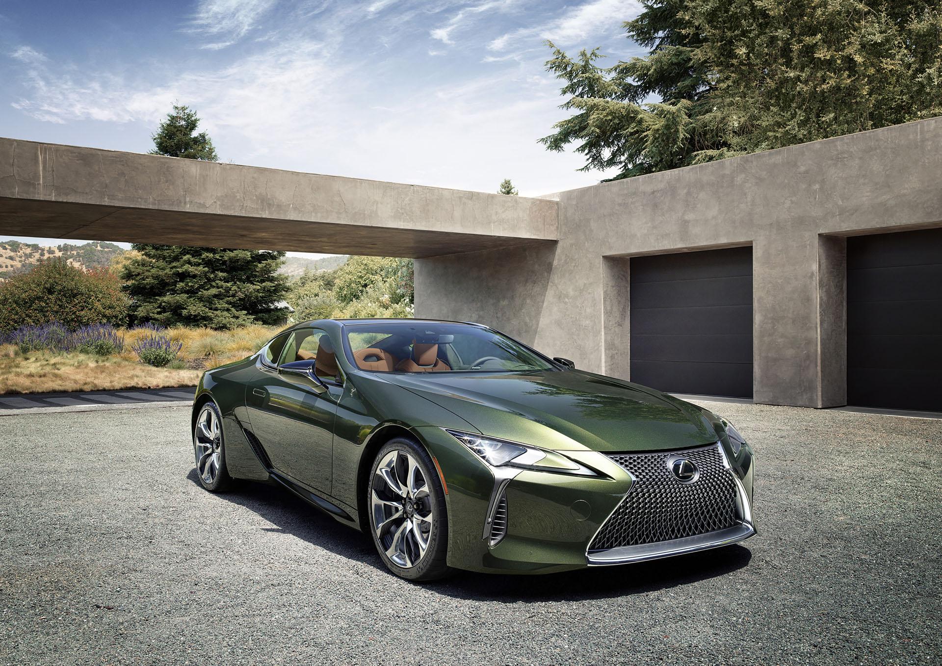 2020 Lexus Lf Lc Spy Shoot