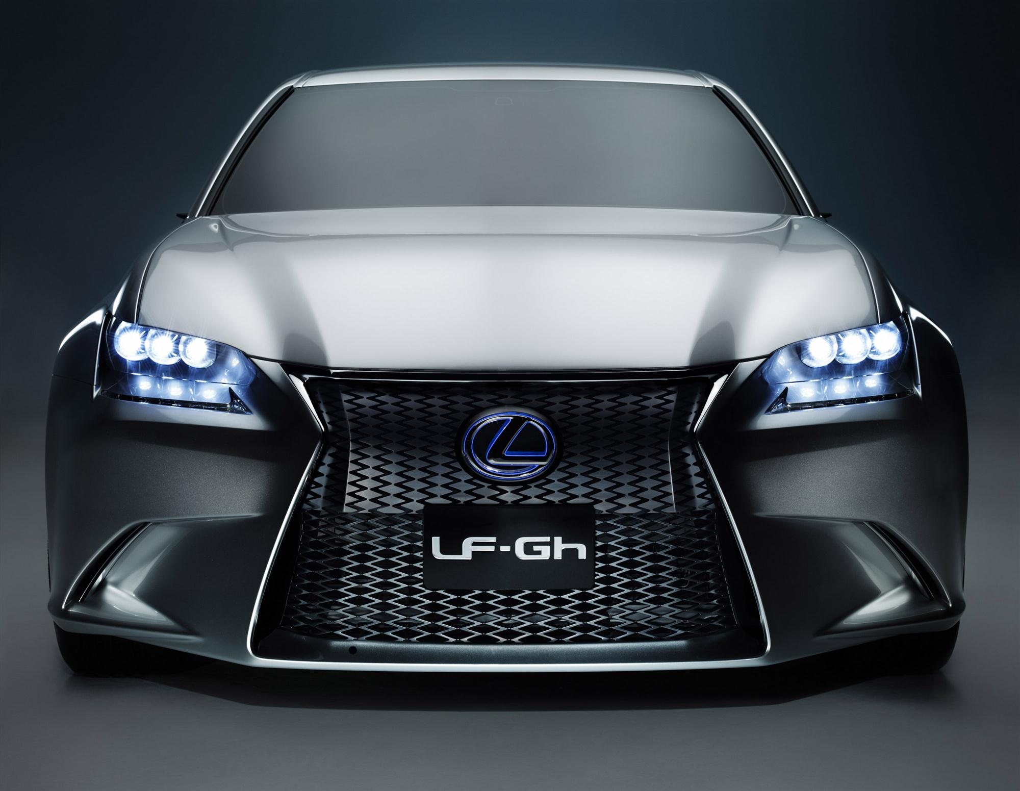 New GS Hybrid To Be First Lexus With All-LED Headlights
