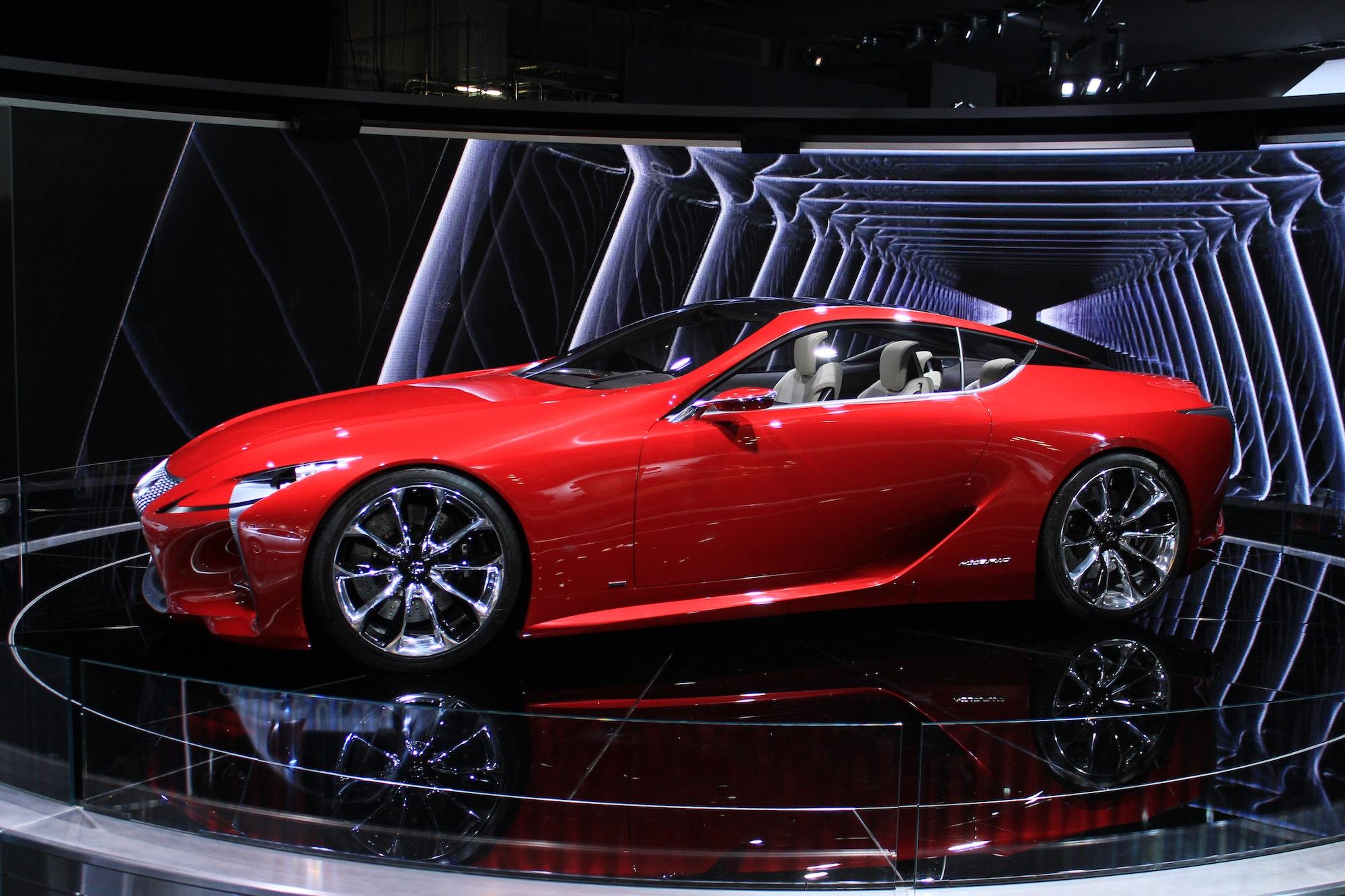 2012 Lexus Lf Lc Concept 2012 Detroit Show Video