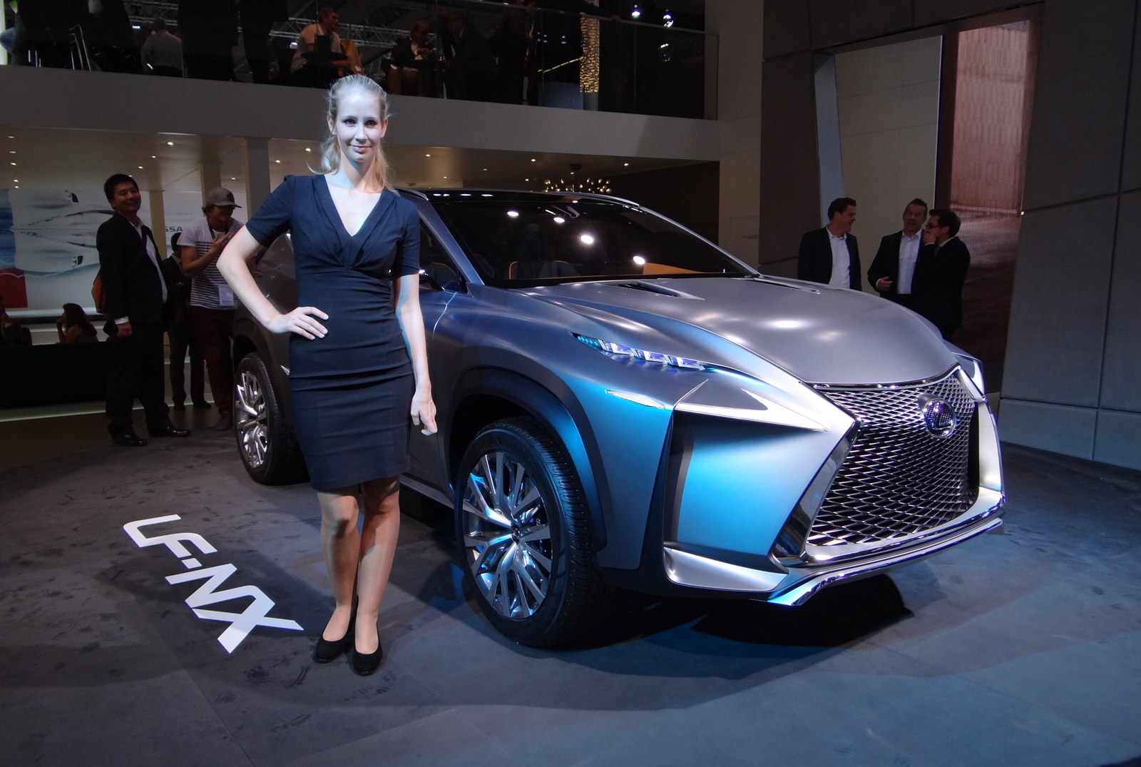 Lexus LFNX Concept Live Photos Frankfurt Auto Show - Lexus car show