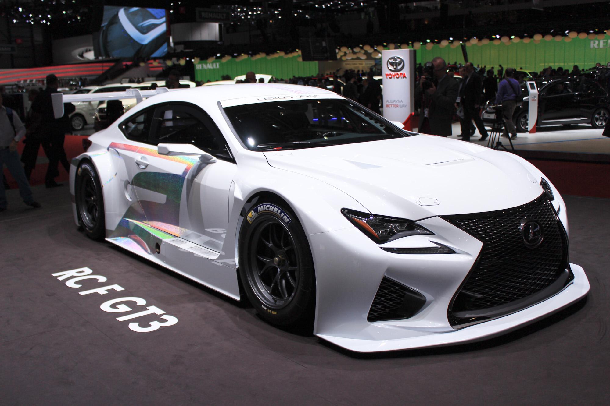 Lexus RC F GT3 To Go Racing In 2015: Geneva Motor Show